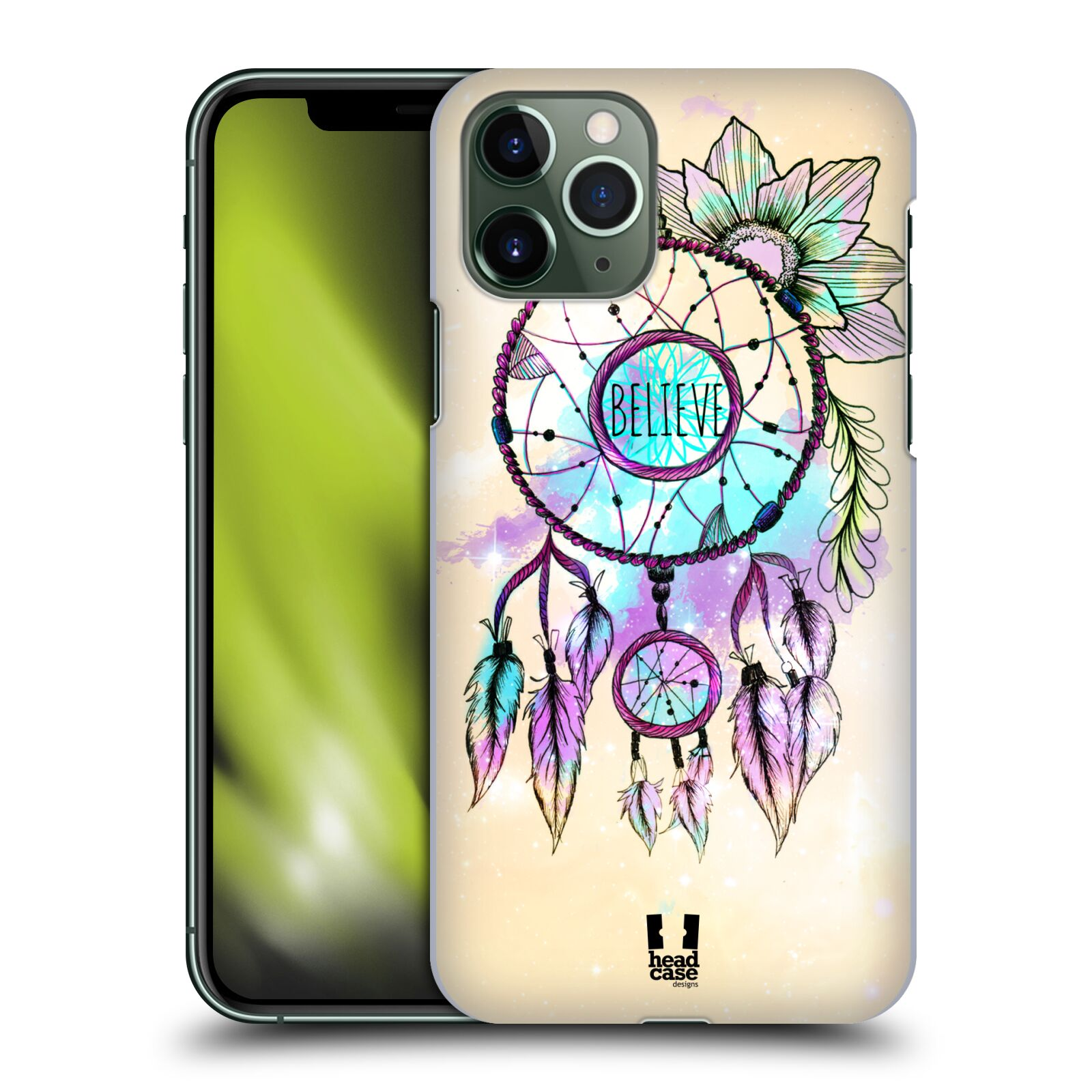 kryt na iphone 6 love - Plastové pouzdro na mobil Apple iPhone 11 Pro - Head Case - MIX BELIEVE