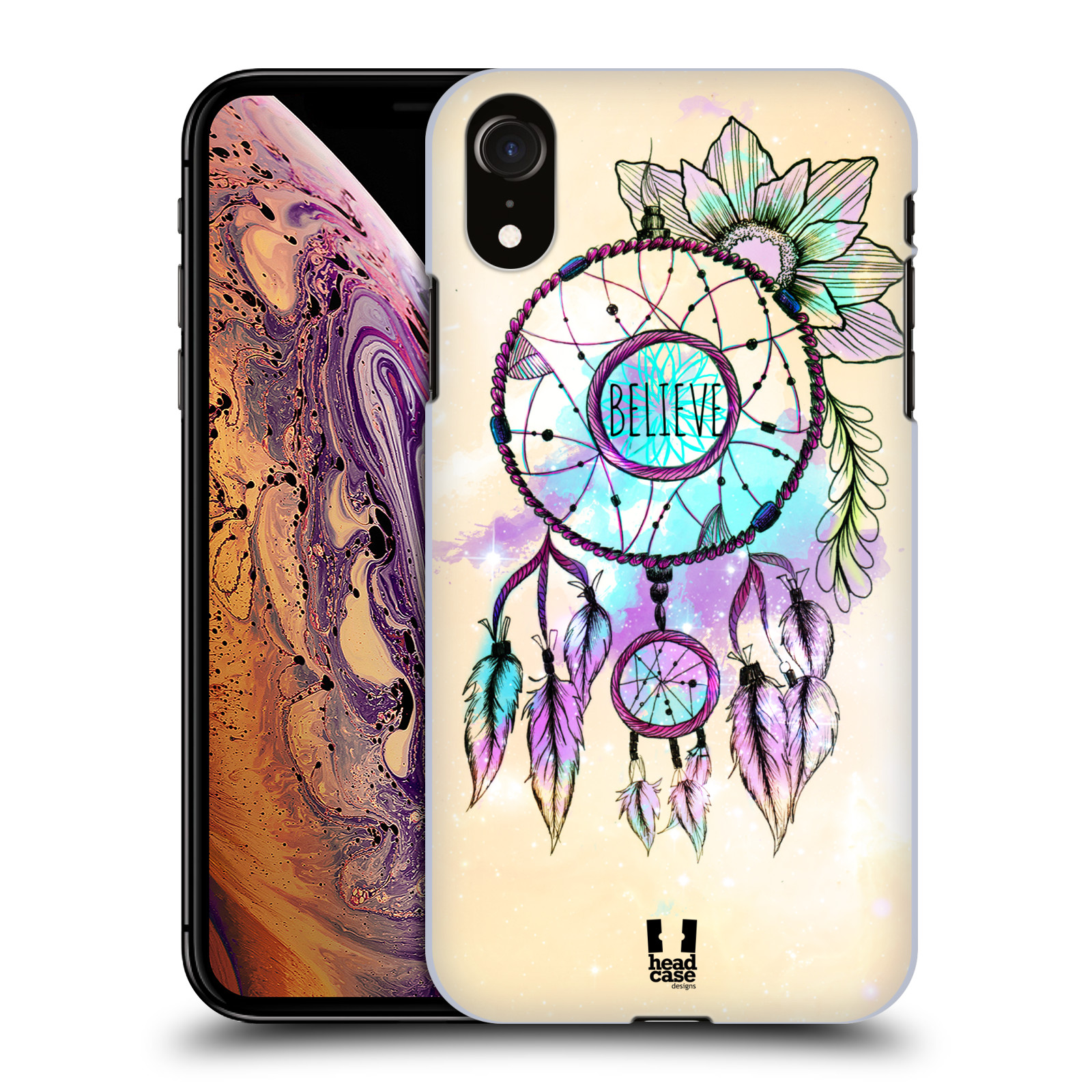 Plastové pouzdro na mobil Apple iPhone XR - Head Case - MIX BELIEVE