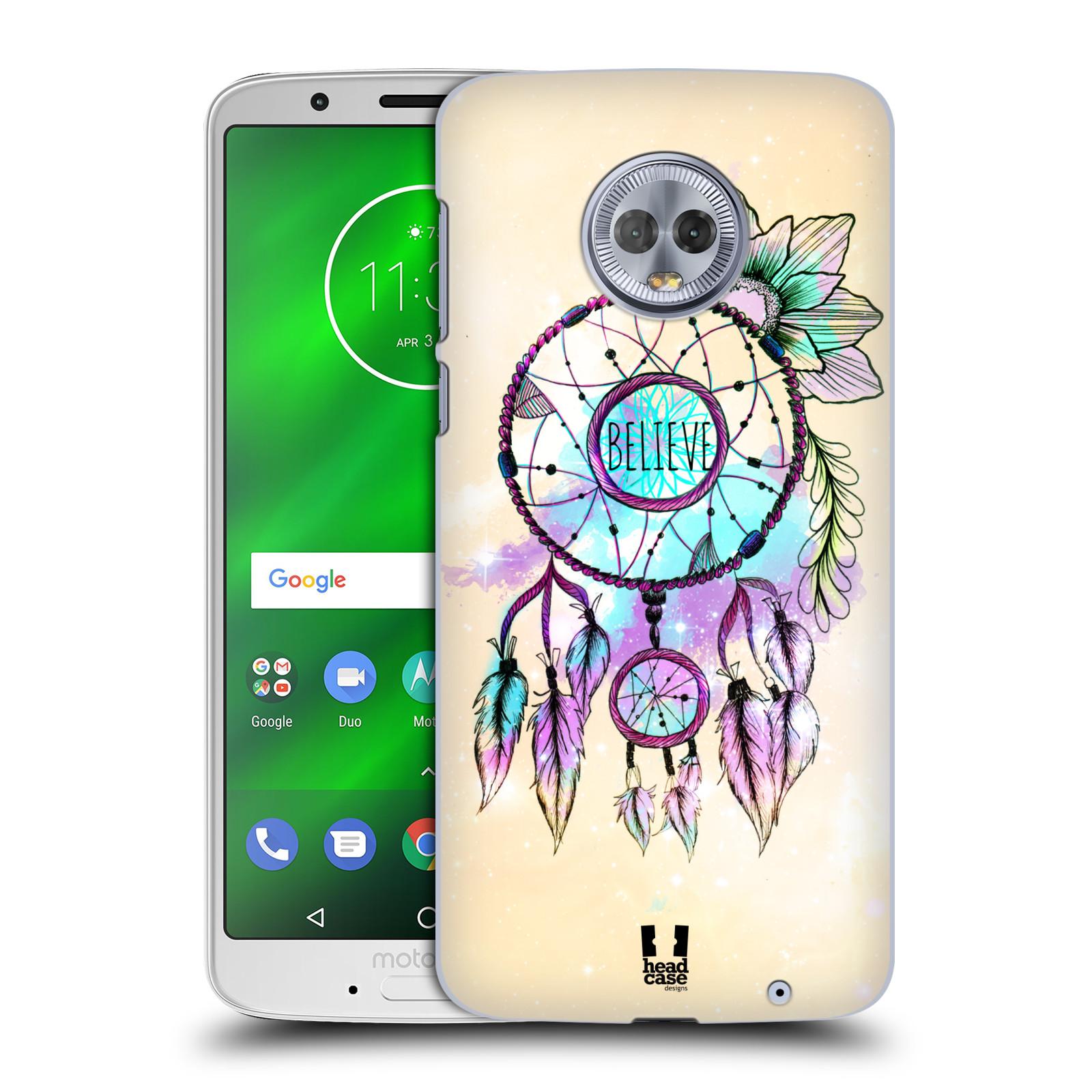 Plastové pouzdro na mobil Motorola Moto G6 Plus - Head Case - MIX BELIEVE