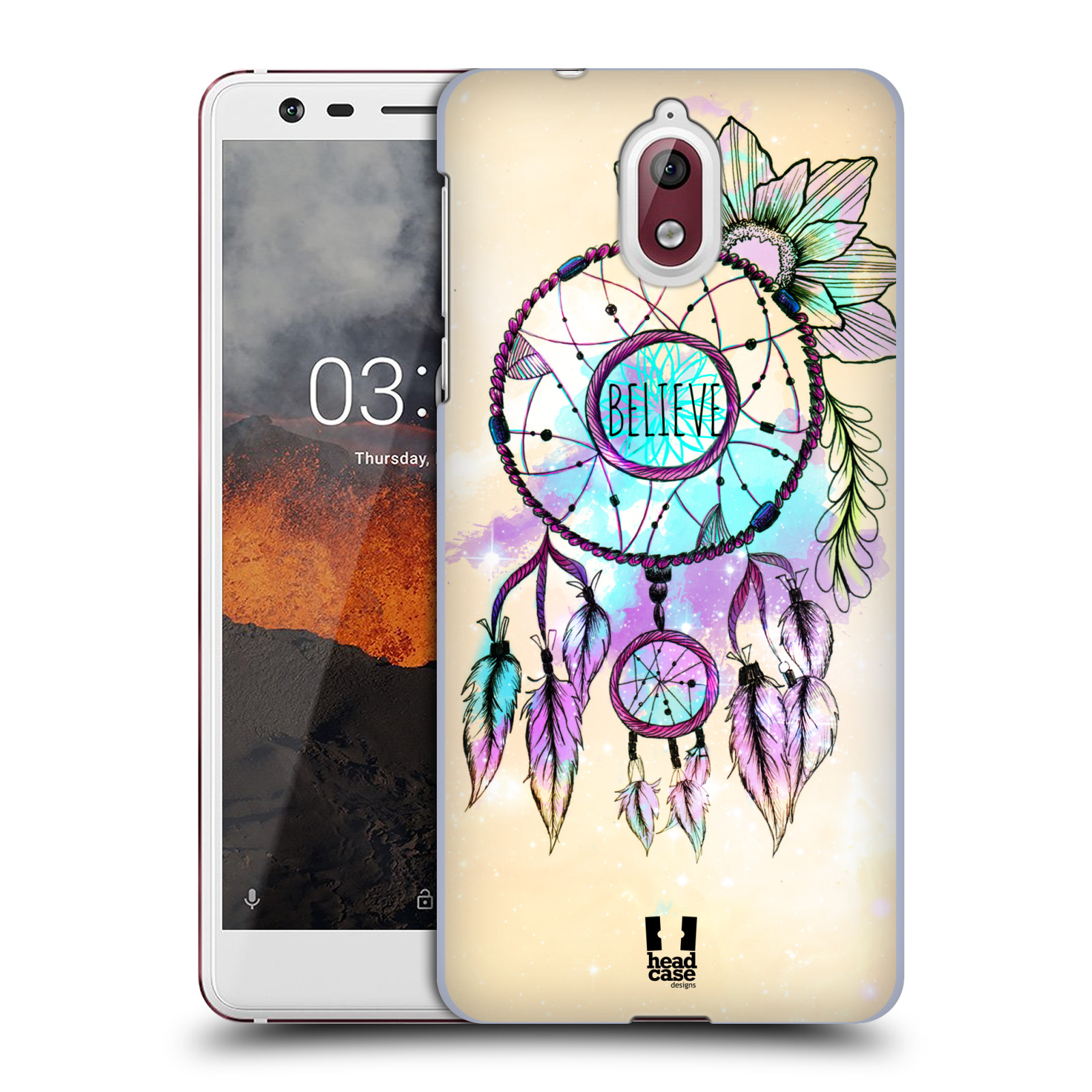 Plastové pouzdro na mobil Nokia 3.1 - Head Case - MIX BELIEVE