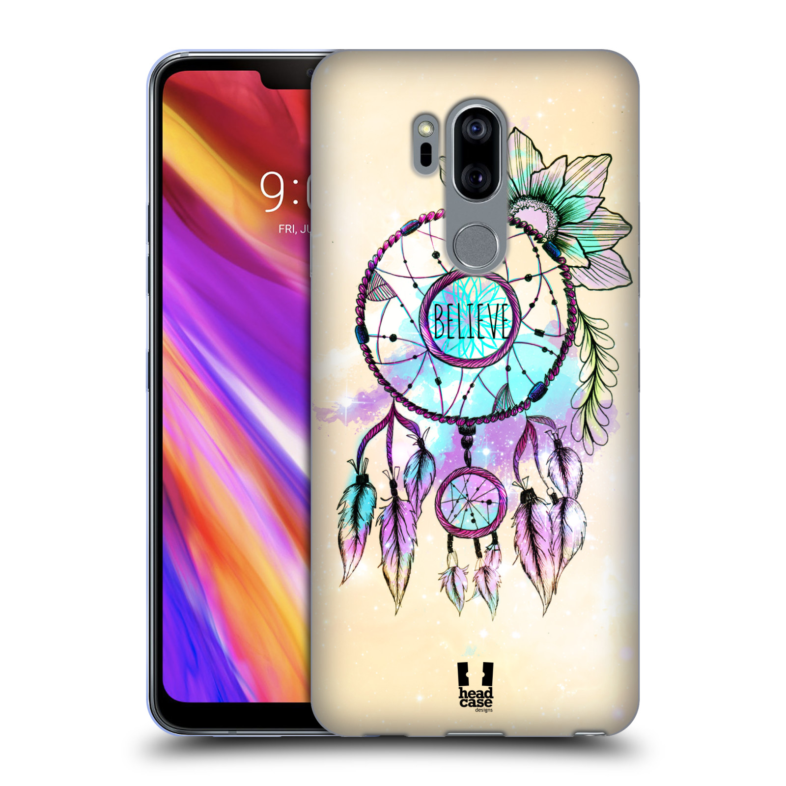 Silikonové pouzdro na mobil LG G7 ThinQ - Head Case - MIX BELIEVE