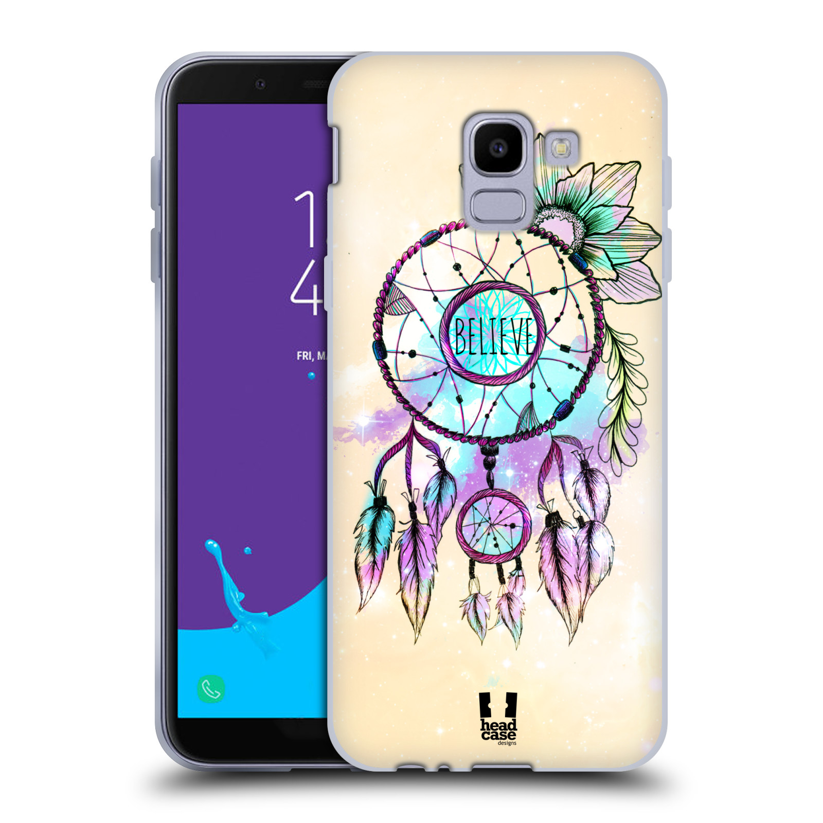 Silikonové pouzdro na mobil Samsung Galaxy J6 (2018) - Head Case - MIX BELIEVE