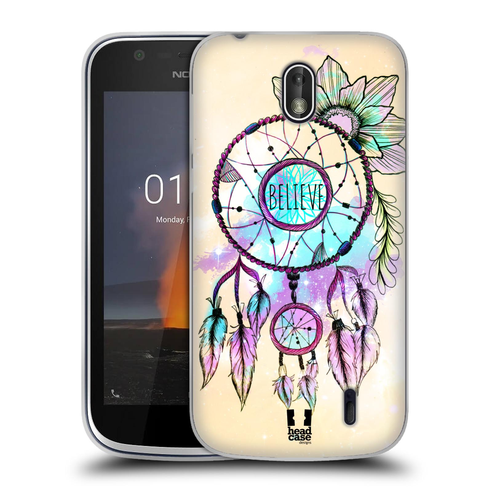 Silikonové pouzdro na mobil Nokia 1 - Head Case - MIX BELIEVE