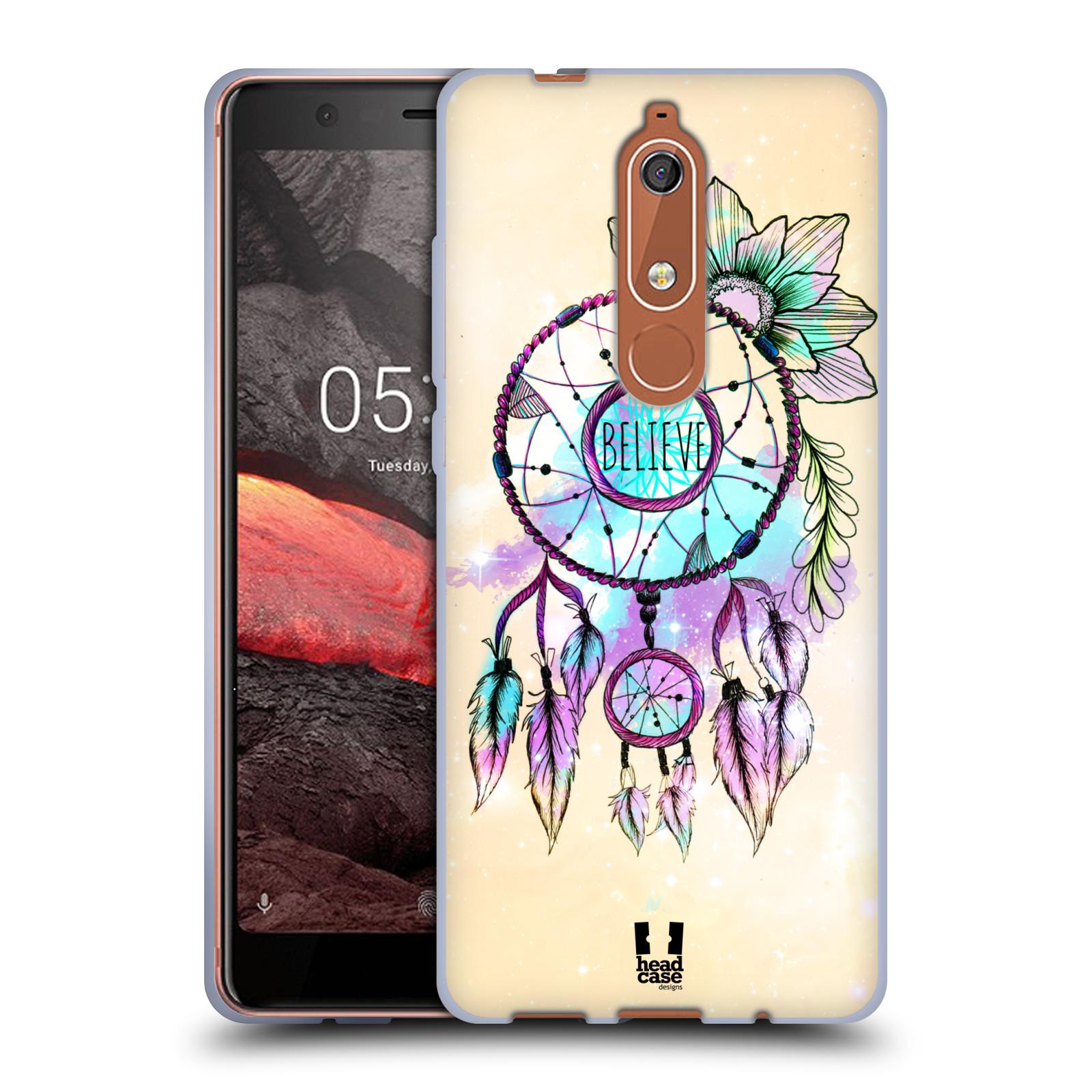 Silikonové pouzdro na mobil Nokia 5.1 - Head Case - MIX BELIEVE