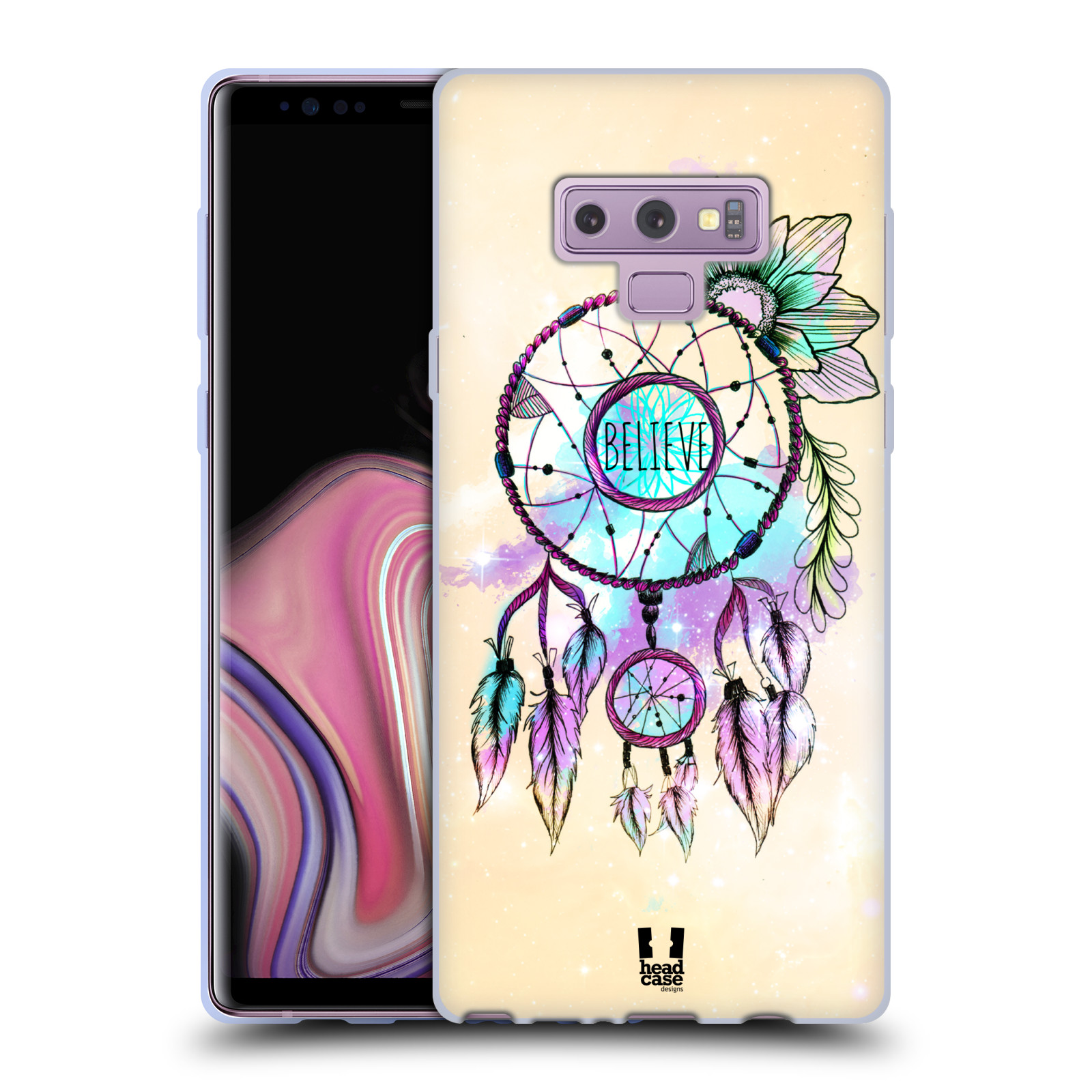 Silikonové pouzdro na mobil Samsung Galaxy Note 9 - Head Case - MIX BELIEVE