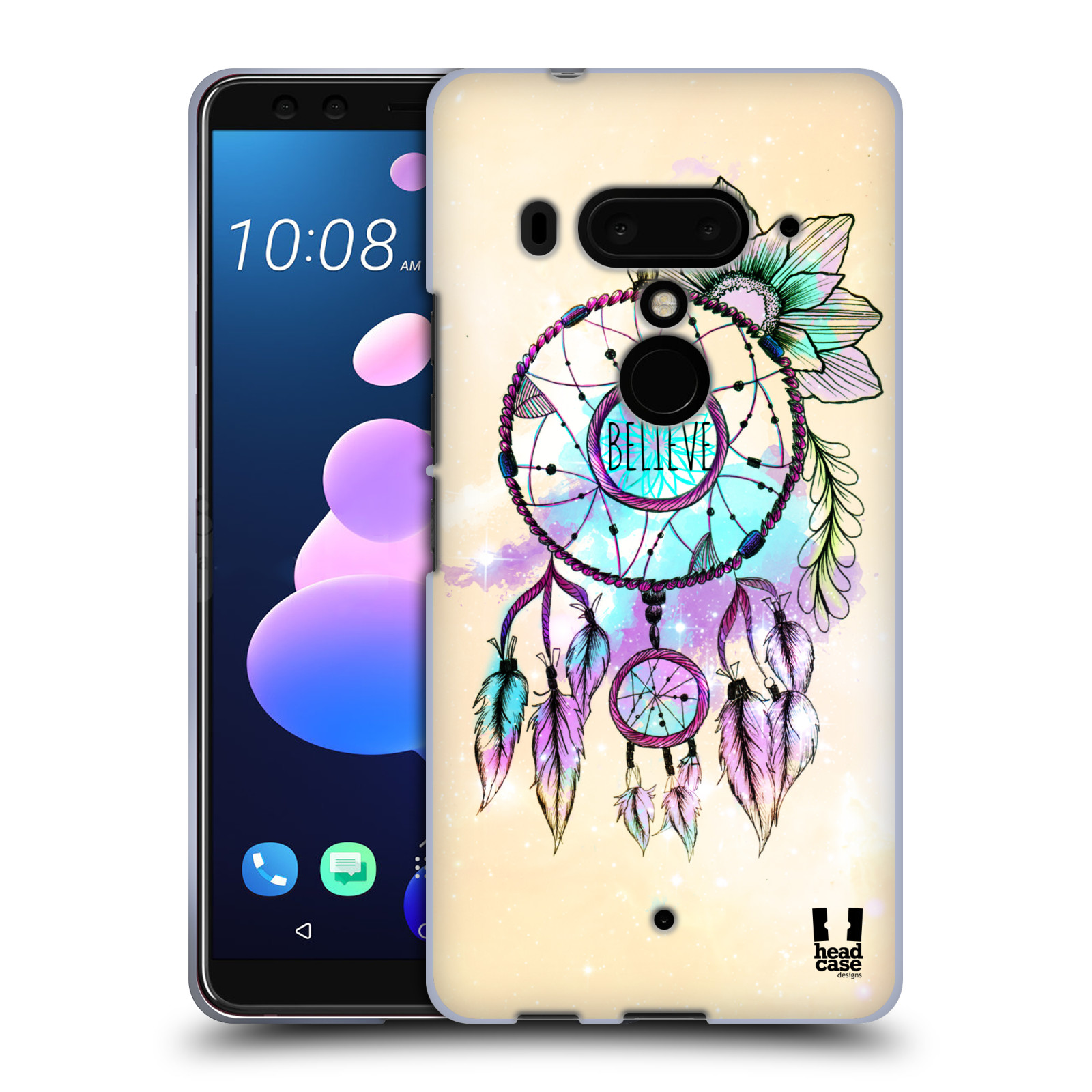 Silikonové pouzdro na mobil HTC U12 Plus - Head Case - MIX BELIEVE