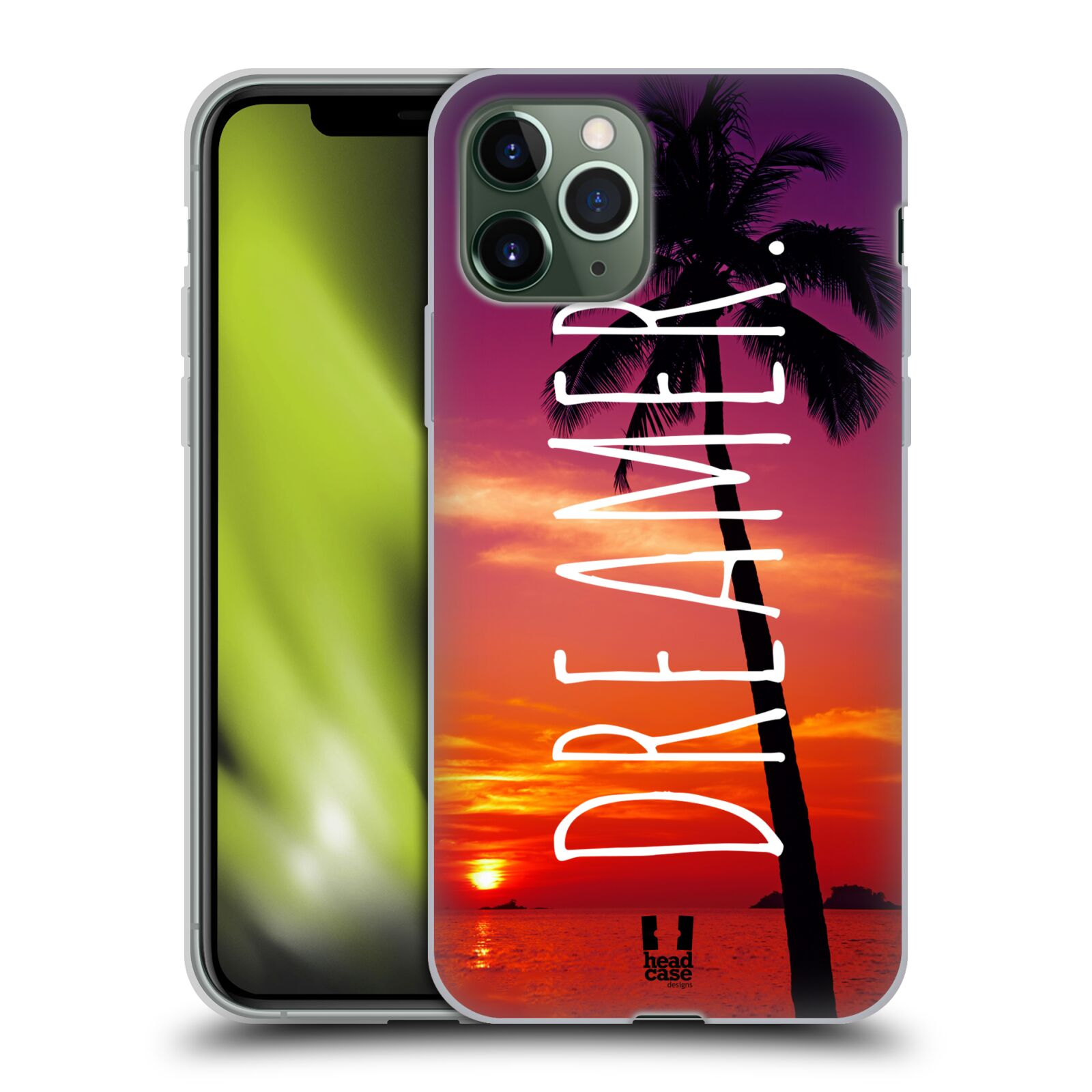 bazar krytu na iphone x - Silikonové pouzdro na mobil Apple iPhone 11 Pro - Head Case - MIX DREAMER