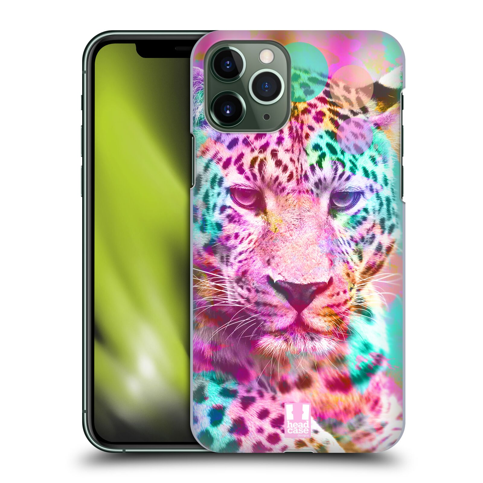 gucci iphone 7 hoesje , Plastové pouzdro na mobil Apple iPhone 11 Pro - Head Case - MIX LEOPARD