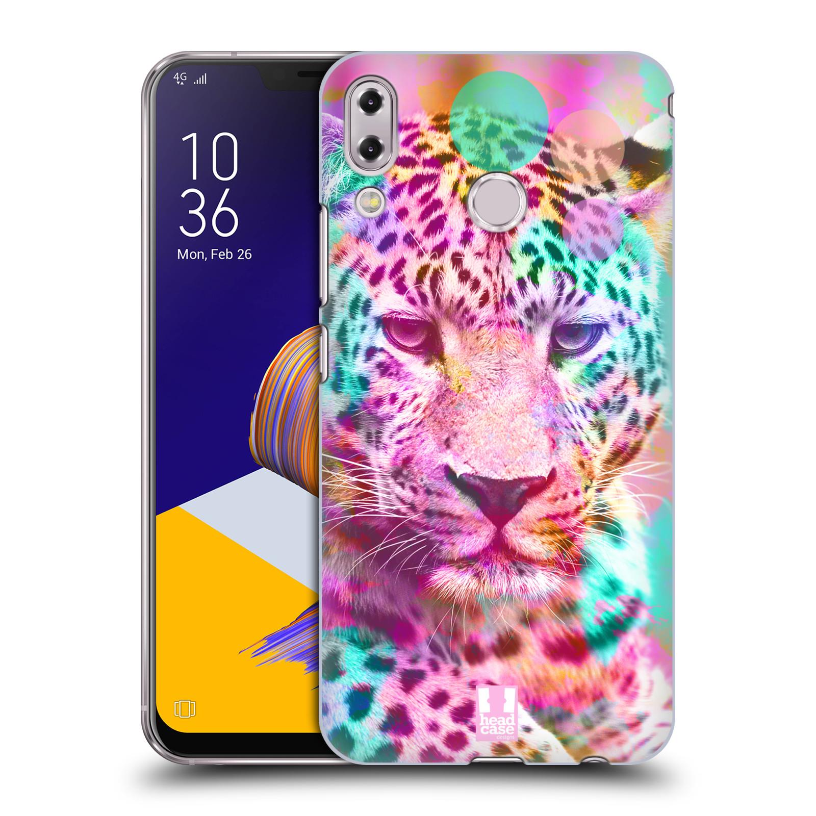 Plastové pouzdro na mobil Asus Zenfone 5z ZS620KL - Head Case - MIX LEOPARD (Plastový kryt či obal na mobilní telefon Asus Zenfone 5z (ZS620KL) s motivem MIX LEOPARD)