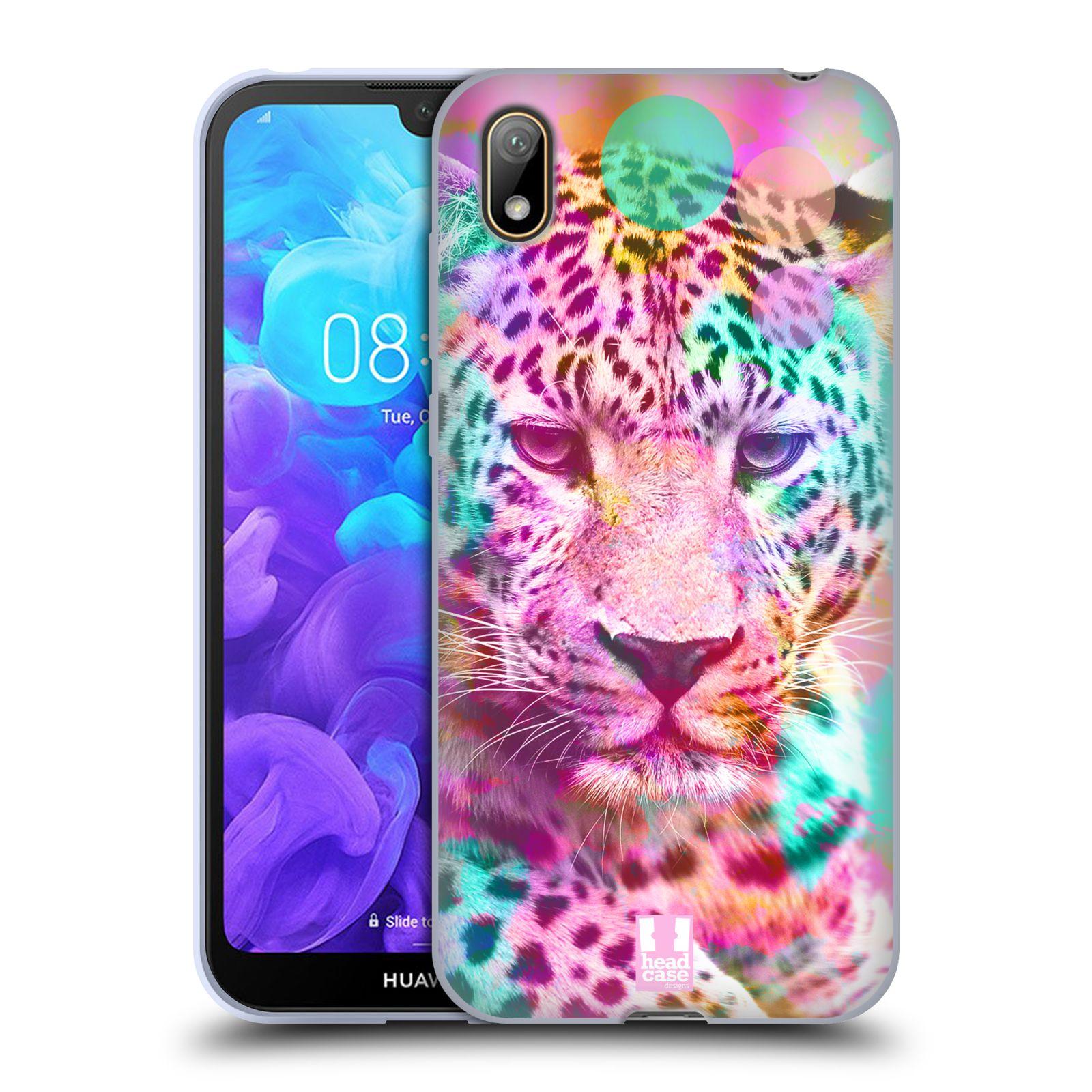 Silikonové pouzdro na mobil Huawei Y5 (2019) - Head Case - MIX LEOPARD