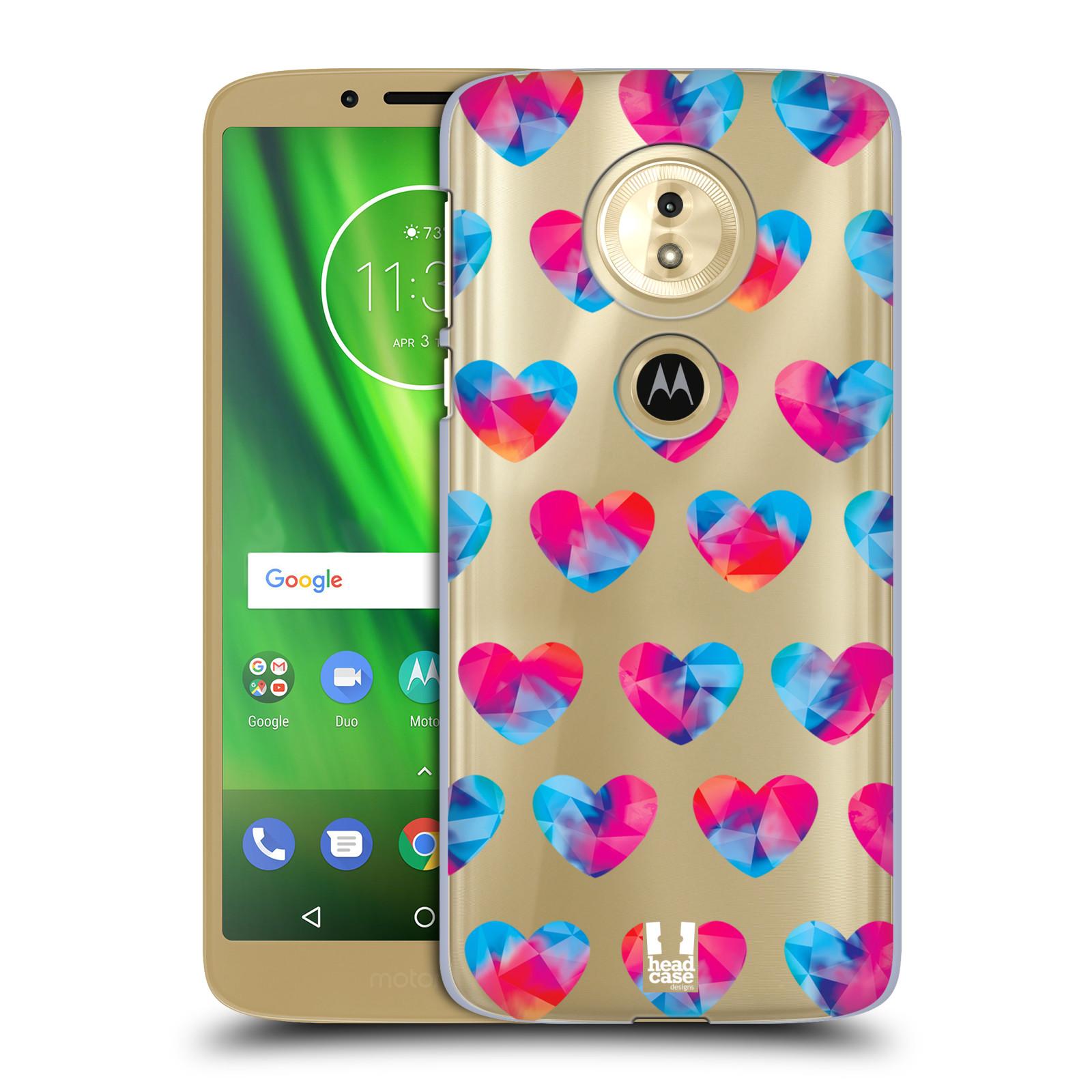 Plastové pouzdro na mobil Motorola Moto G6 Play - Head Case - Srdíčka hrající barvami