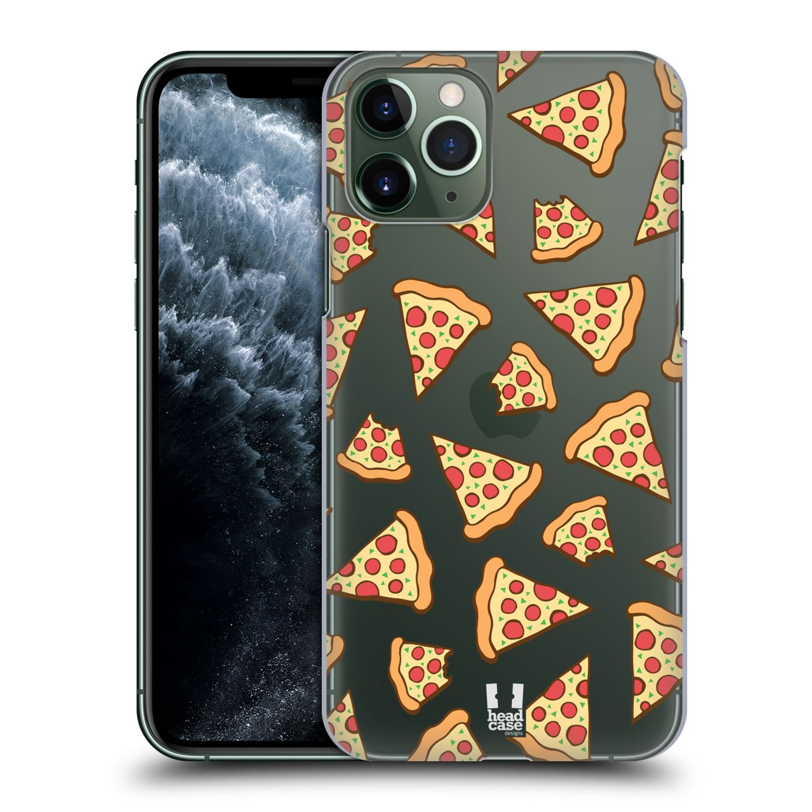 iphone 7 displej - Plastové pouzdro na mobil Apple iPhone 11 Pro - Head Case - Pizza