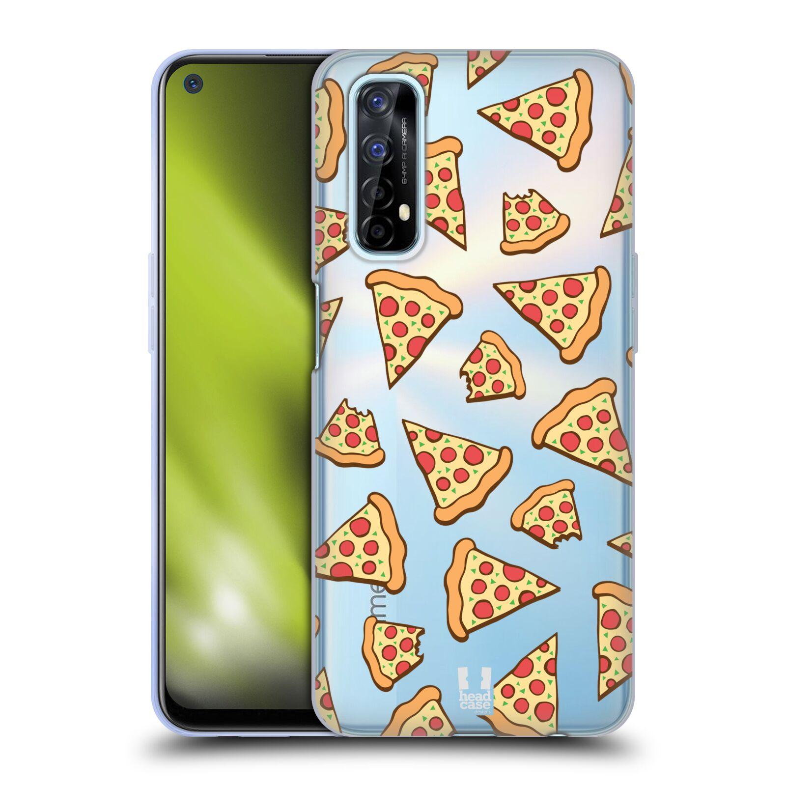 Silikonové pouzdro na mobil Realme 7 - Head Case - Pizza