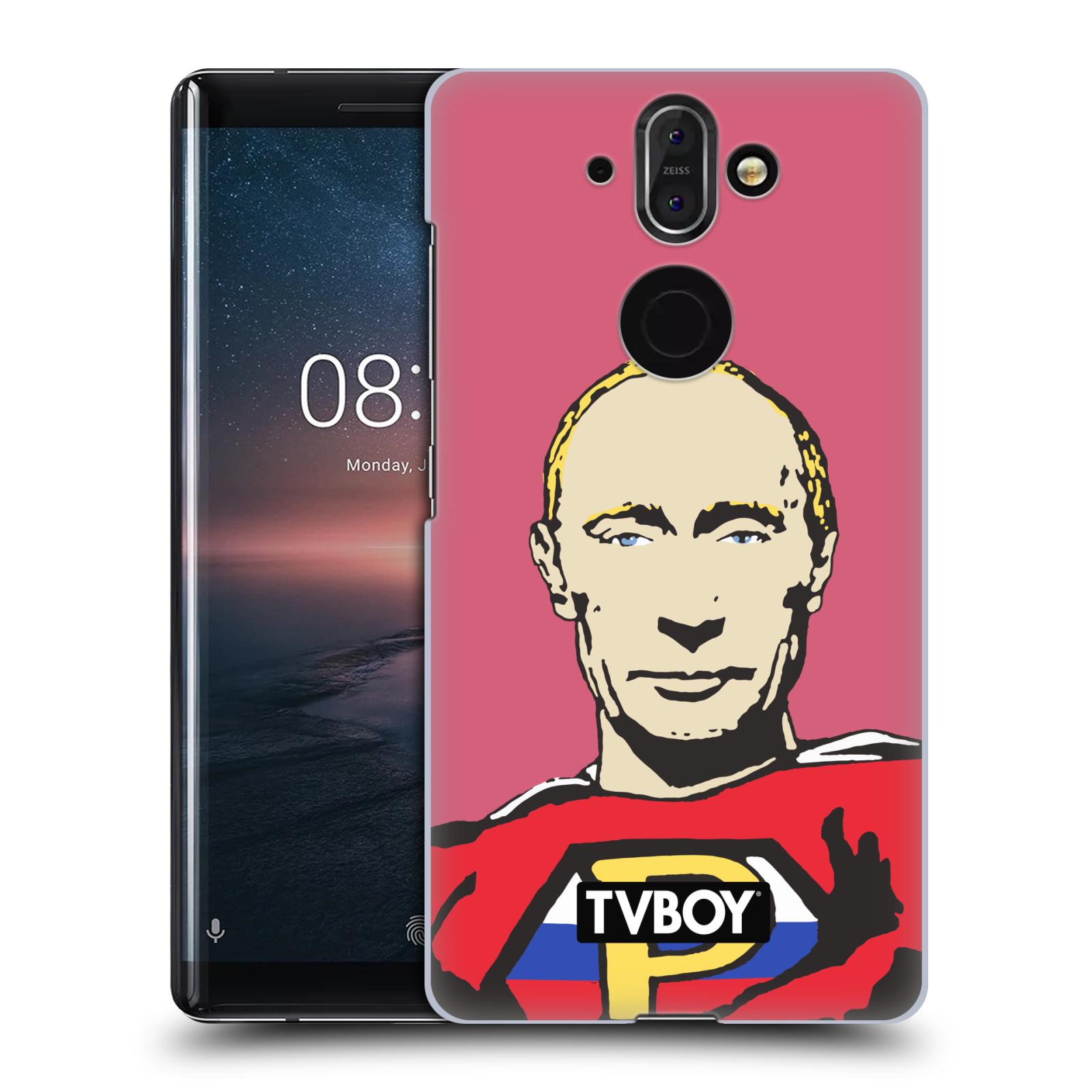 Plastové pouzdro na mobil Nokia 8 Sirocco - Head Case - TVBOY - Super Putin