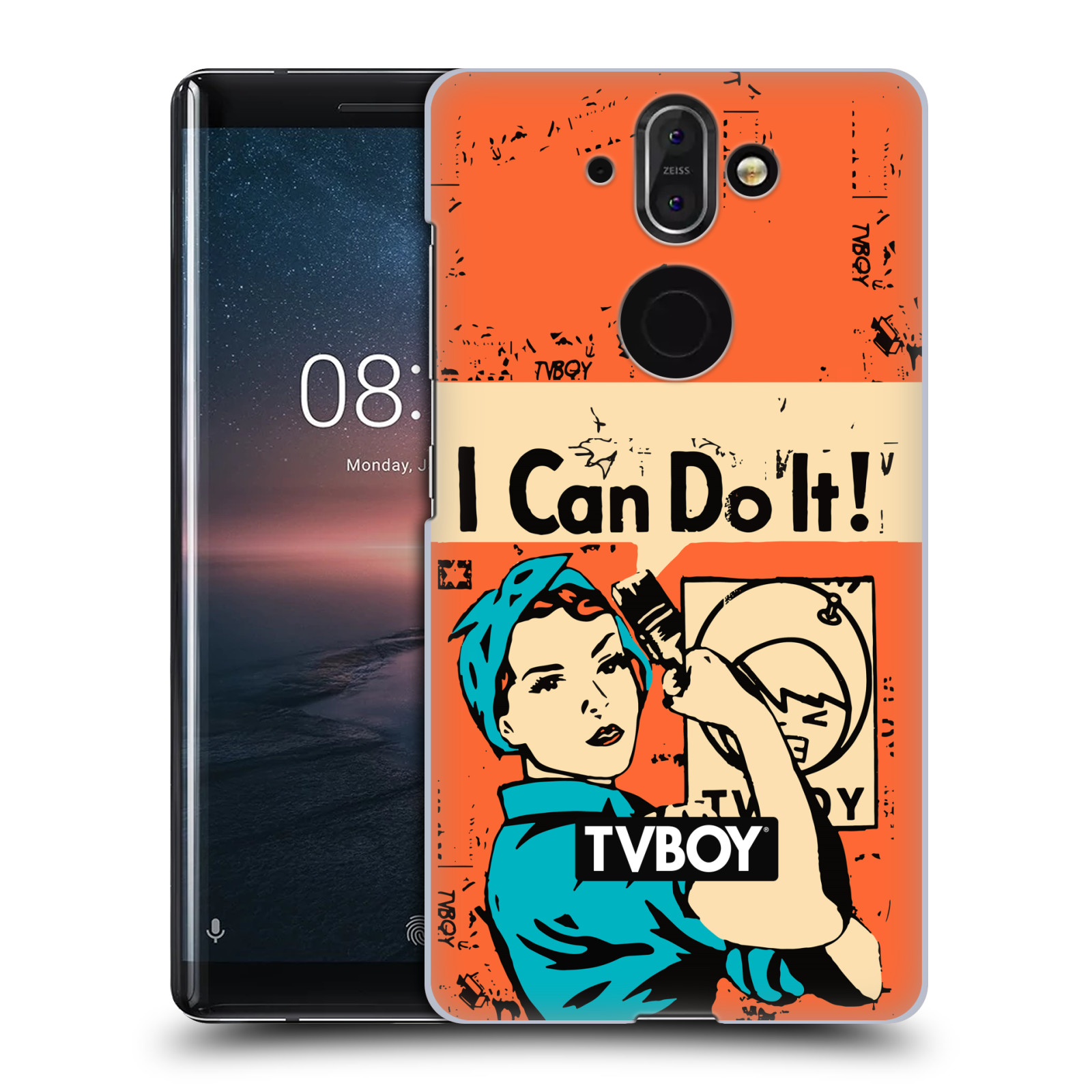 Plastové pouzdro na mobil Nokia 8 Sirocco - Head Case - TVBOY - I can do it