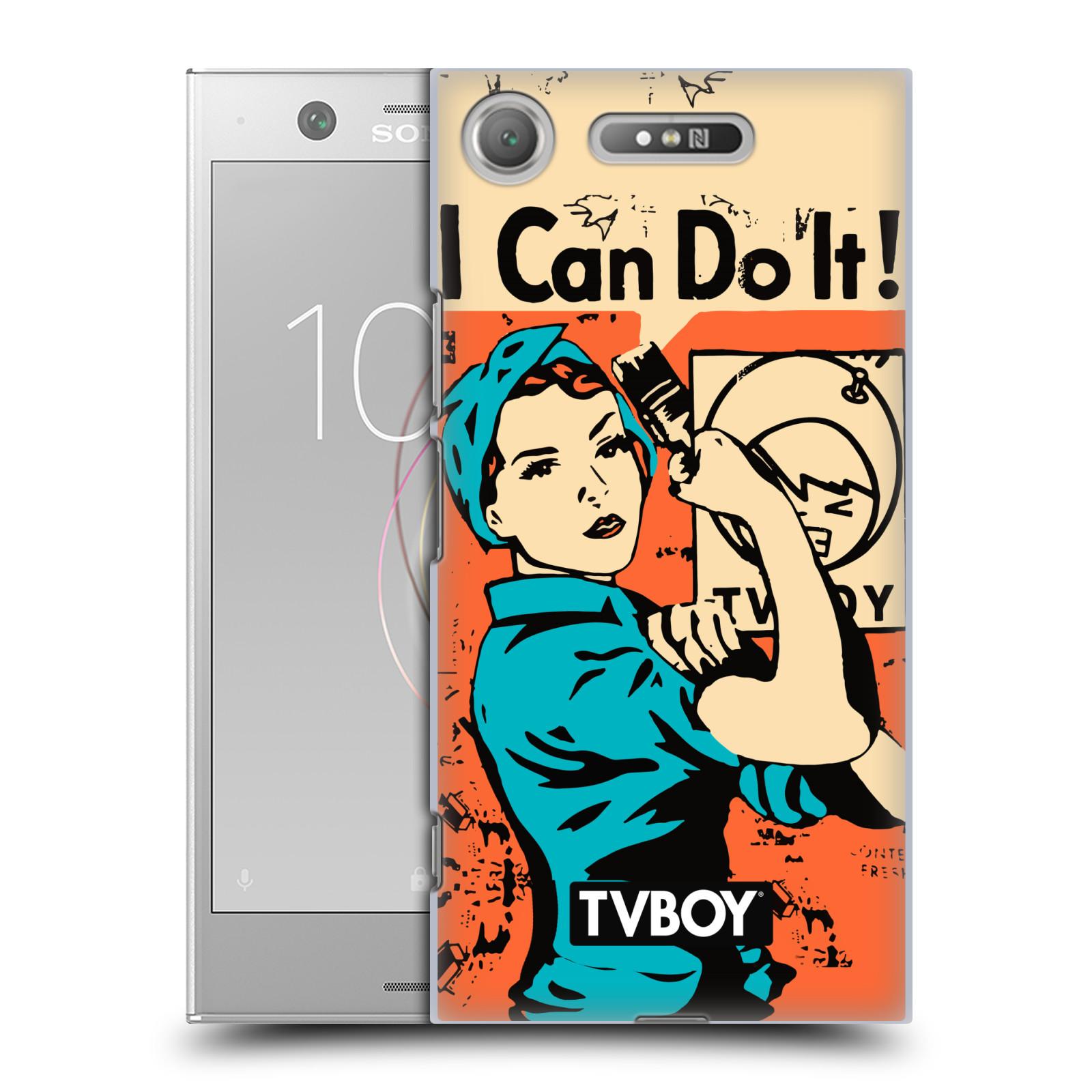 Plastové pouzdro na mobil Sony Xperia XZ1 - Head Case - TVBOY - I can do it