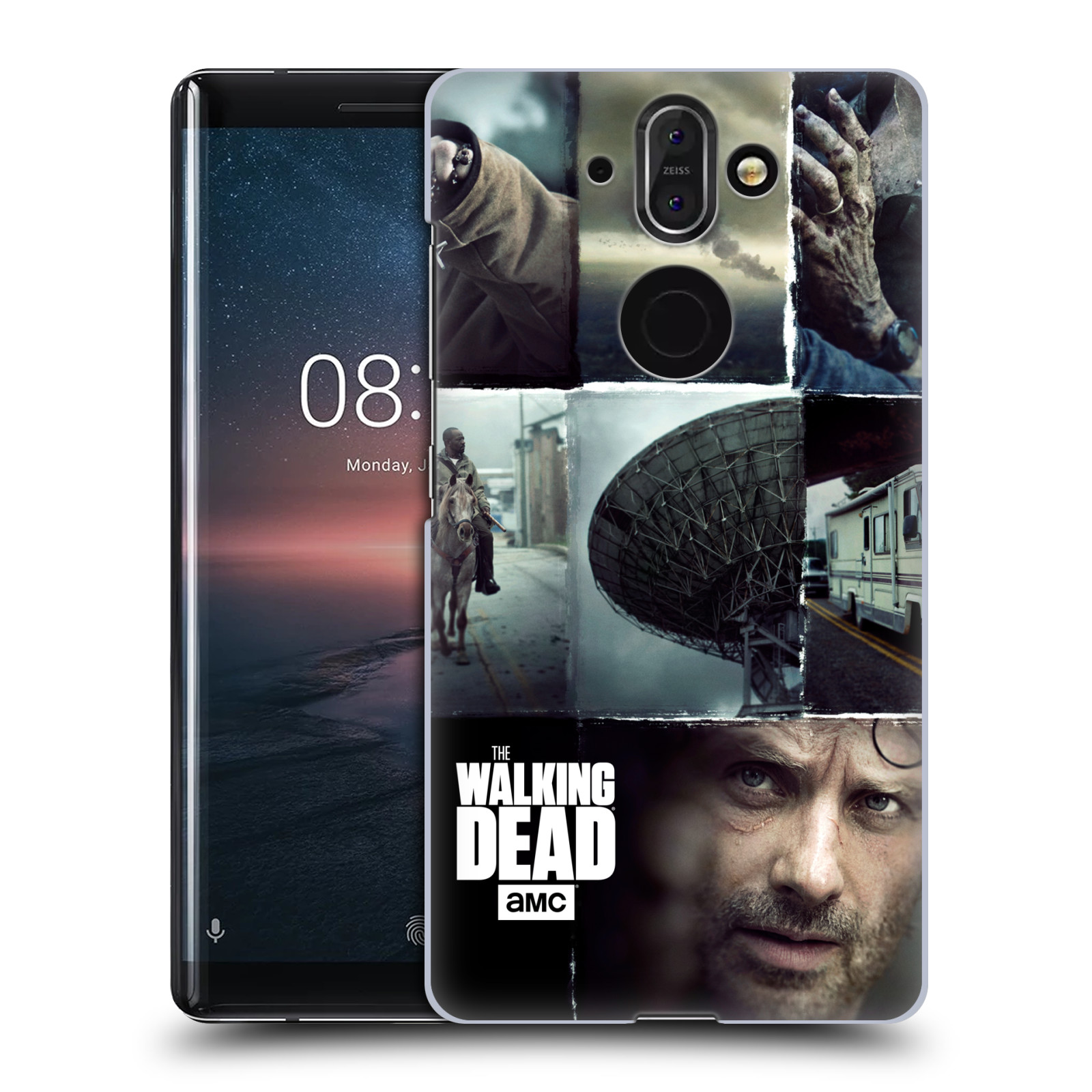 Plastové pouzdro na mobil Nokia 8 Sirocco - Head Case - Živí mrtví - Koláž