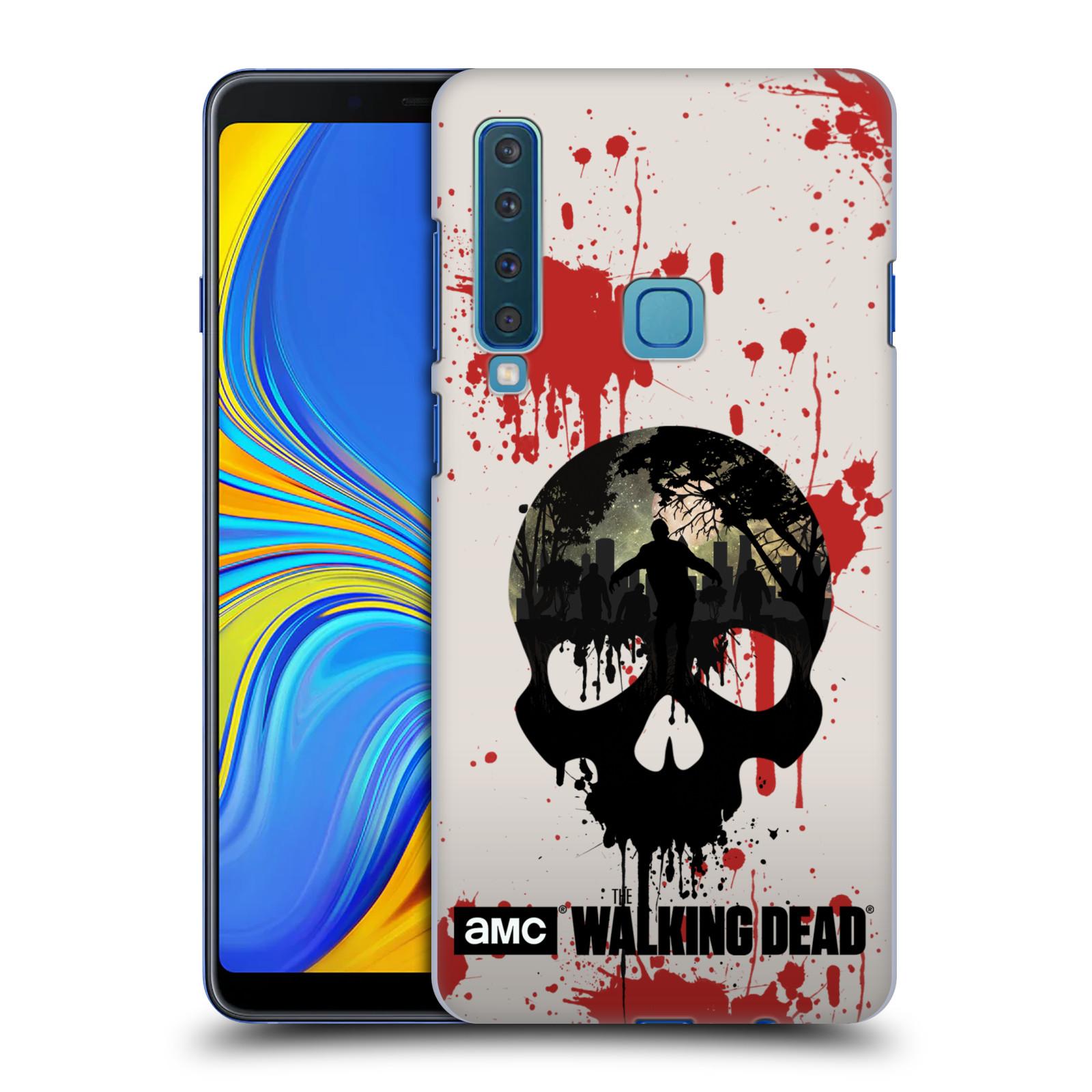 Plastové pouzdro na mobil Samsung Galaxy A9 (2018) - Head Case - Živí mrtví - Lebka