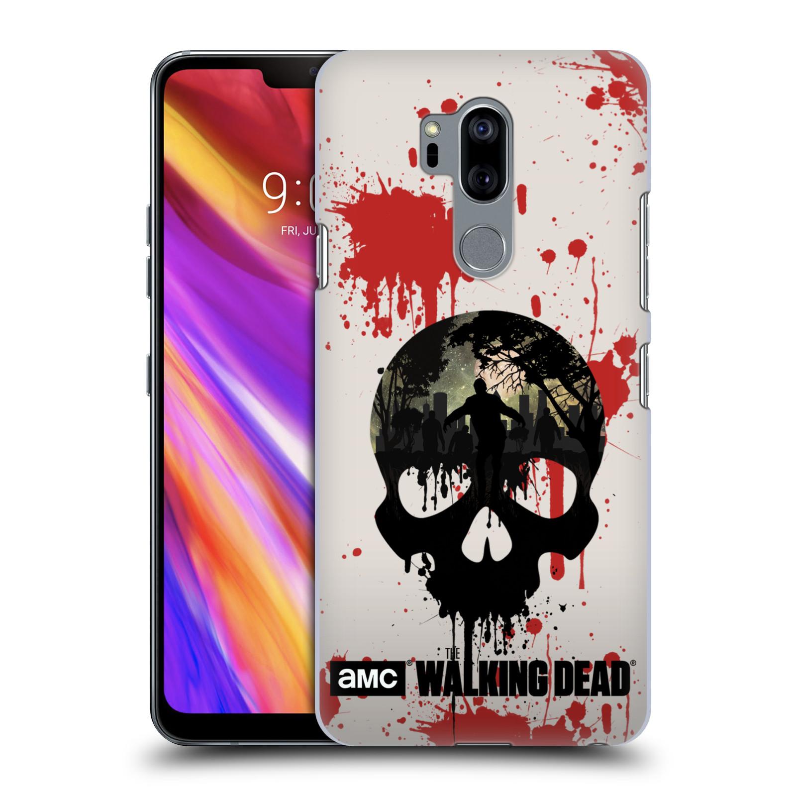 Plastové pouzdro na mobil LG G7 ThinQ - Head Case - Živí mrtví - Lebka