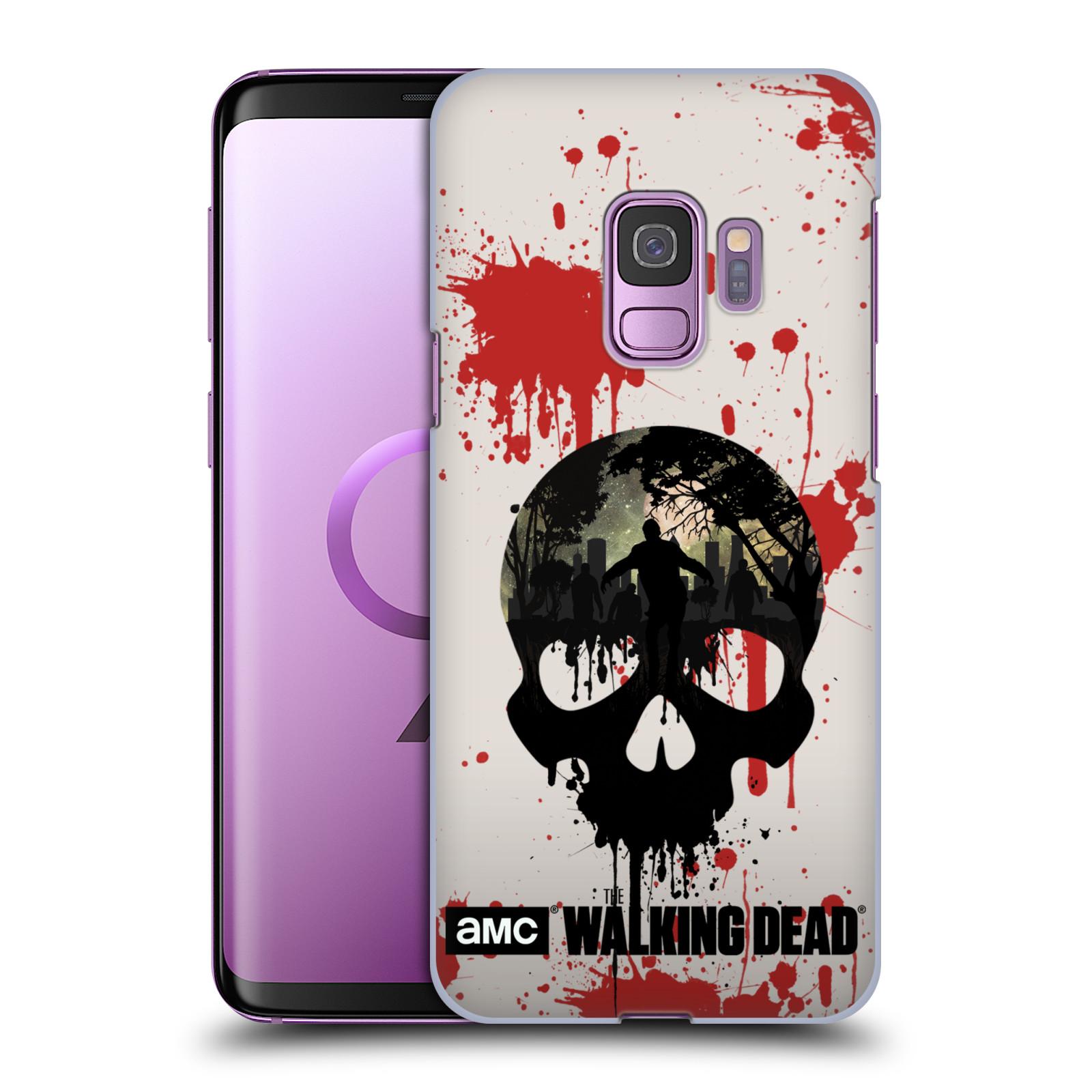 Plastové pouzdro na mobil Samsung Galaxy S9 - Head Case - Živí mrtví - Lebka