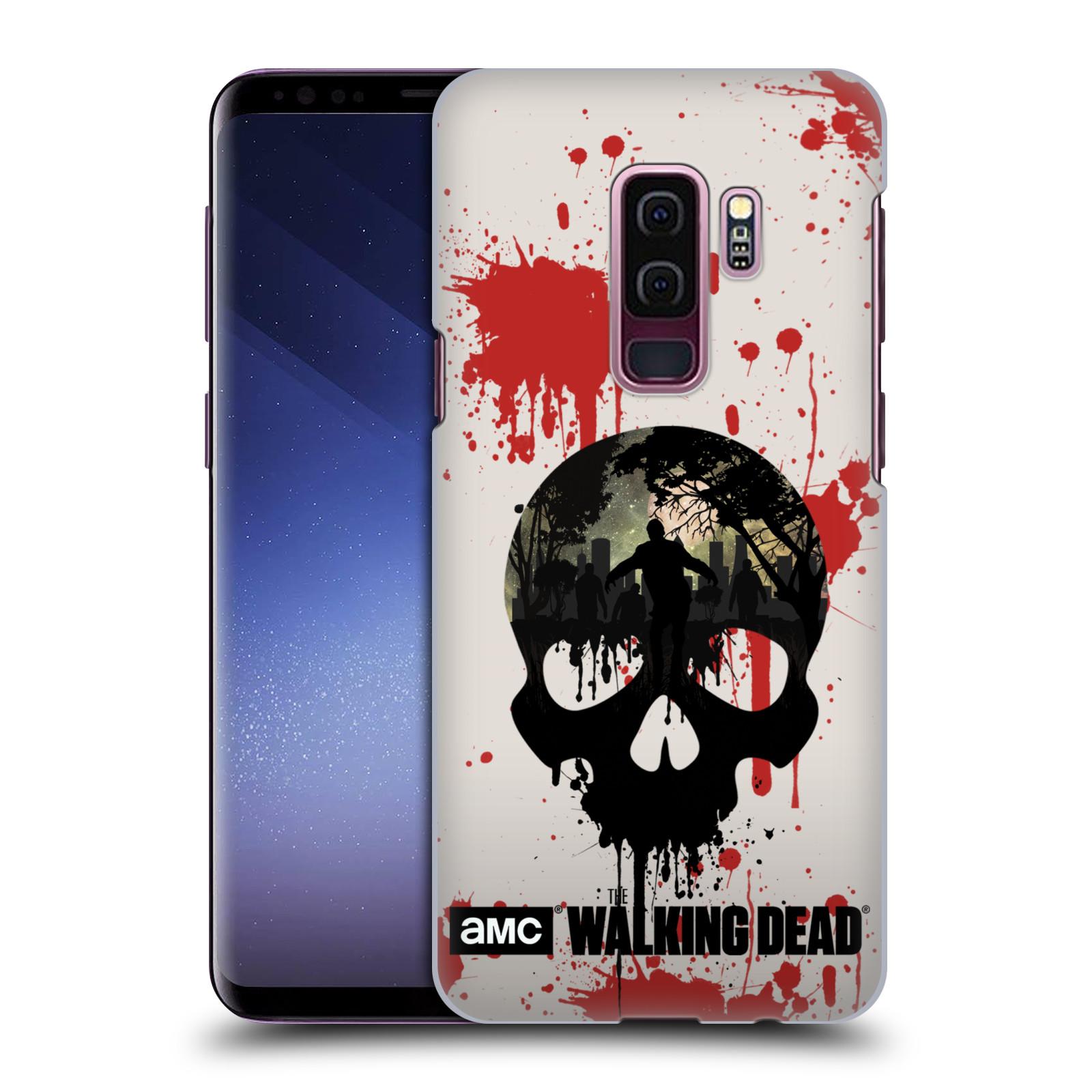 Plastové pouzdro na mobil Samsung Galaxy S9 Plus - Head Case - Živí mrtví - Lebka