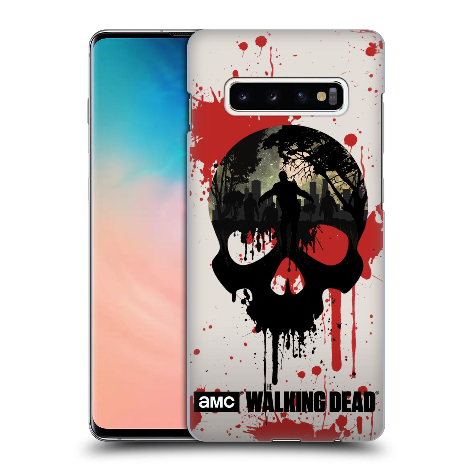 Plastové pouzdro na mobil Samsung Galaxy S10 Plus - Head Case - Živí mrtví - Lebka