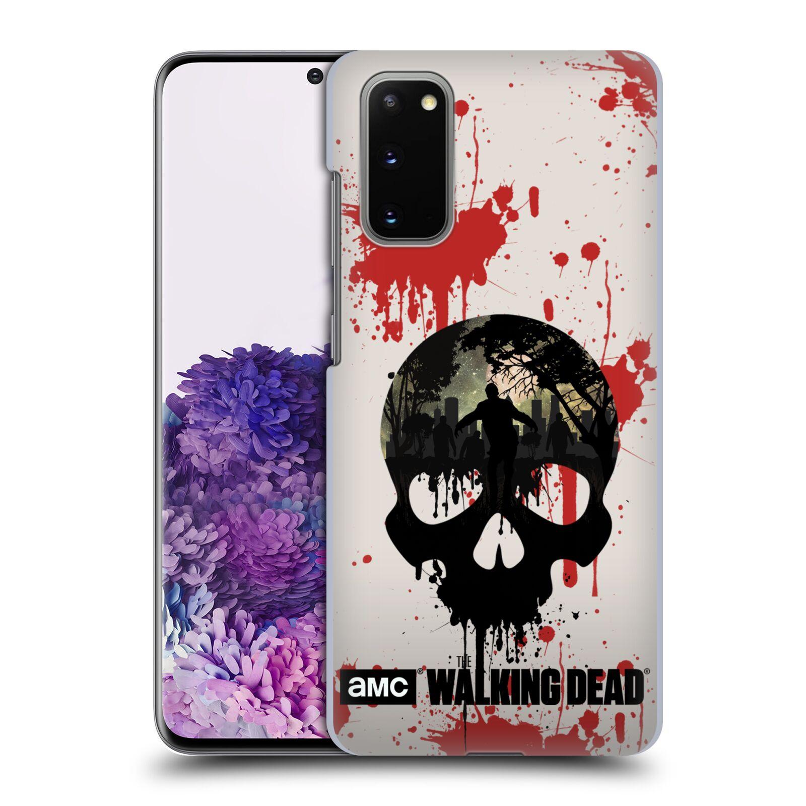Plastové pouzdro na mobil Samsung Galaxy S20 - Head Case - Živí mrtví - Lebka