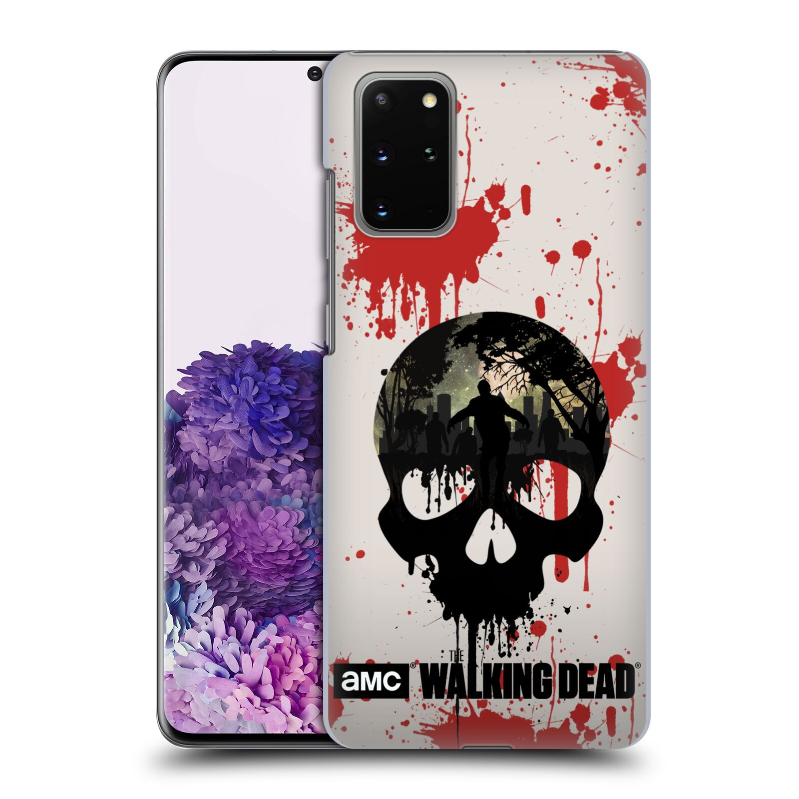 Plastové pouzdro na mobil Samsung Galaxy S20 Plus - Head Case - Živí mrtví - Lebka