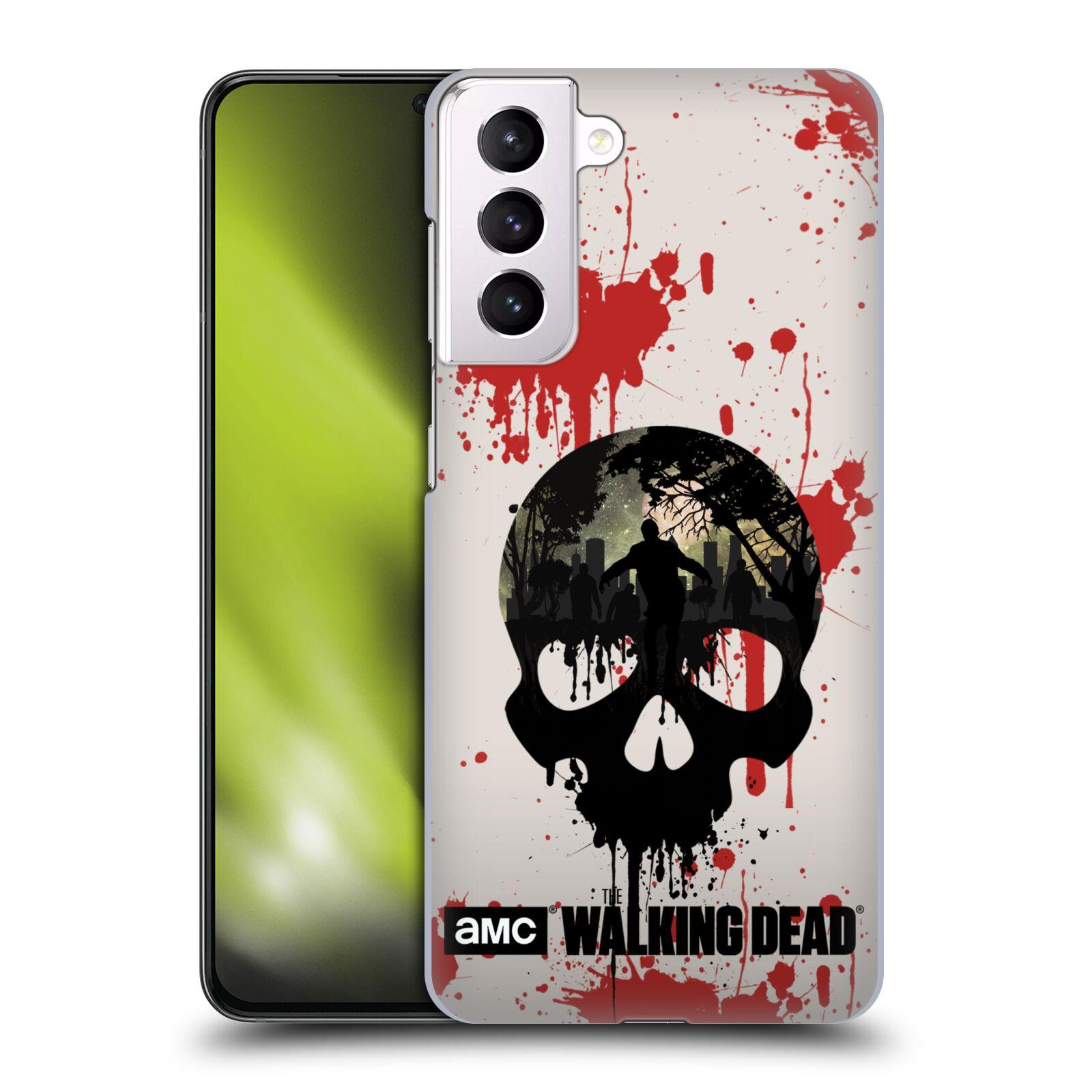 Plastové pouzdro na mobil Samsung Galaxy S21 Plus 5G - Head Case - Živí mrtví - Lebka
