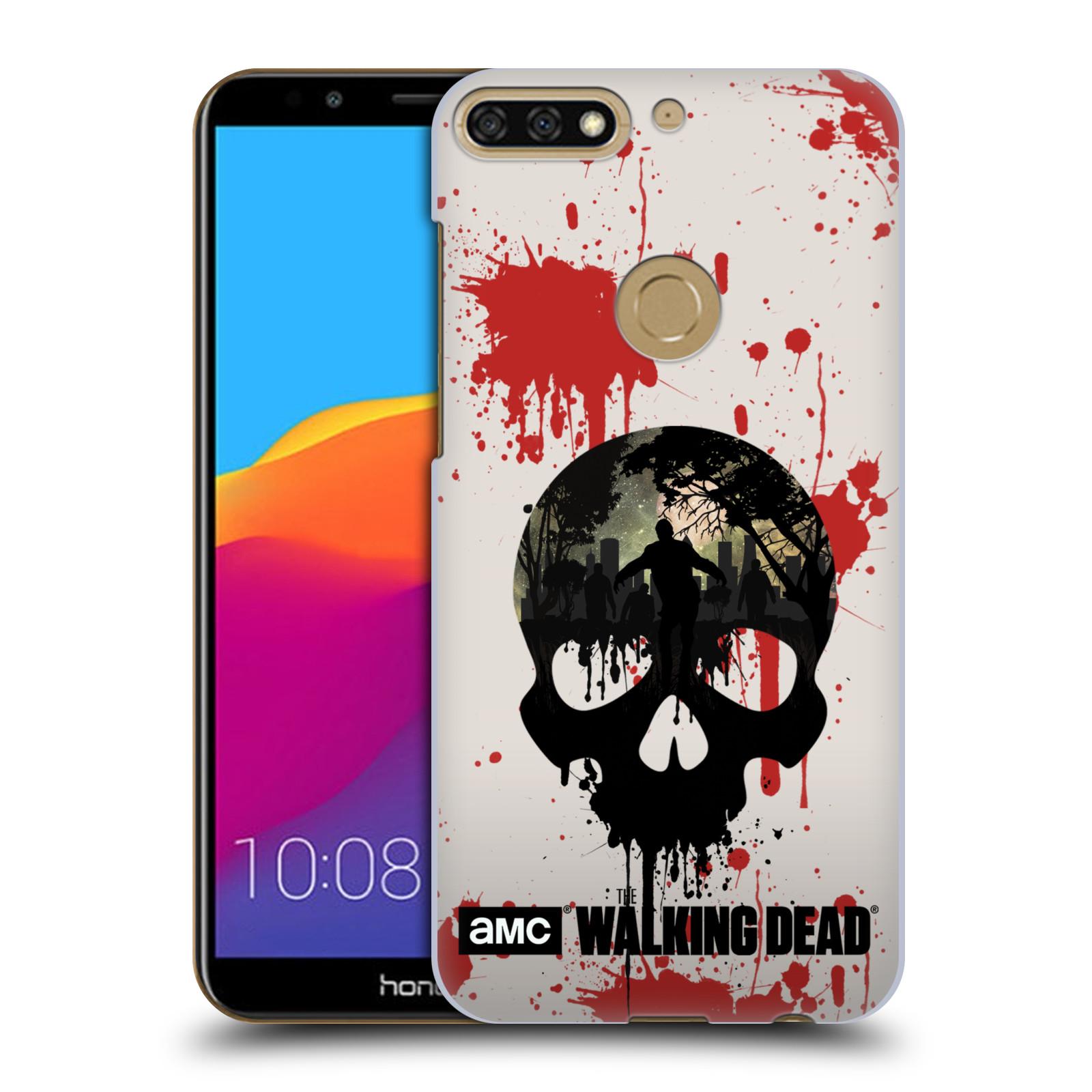 Plastové pouzdro na mobil Huawei Y7 Prime 2018 - Head Case - Živí mrtví - Lebka