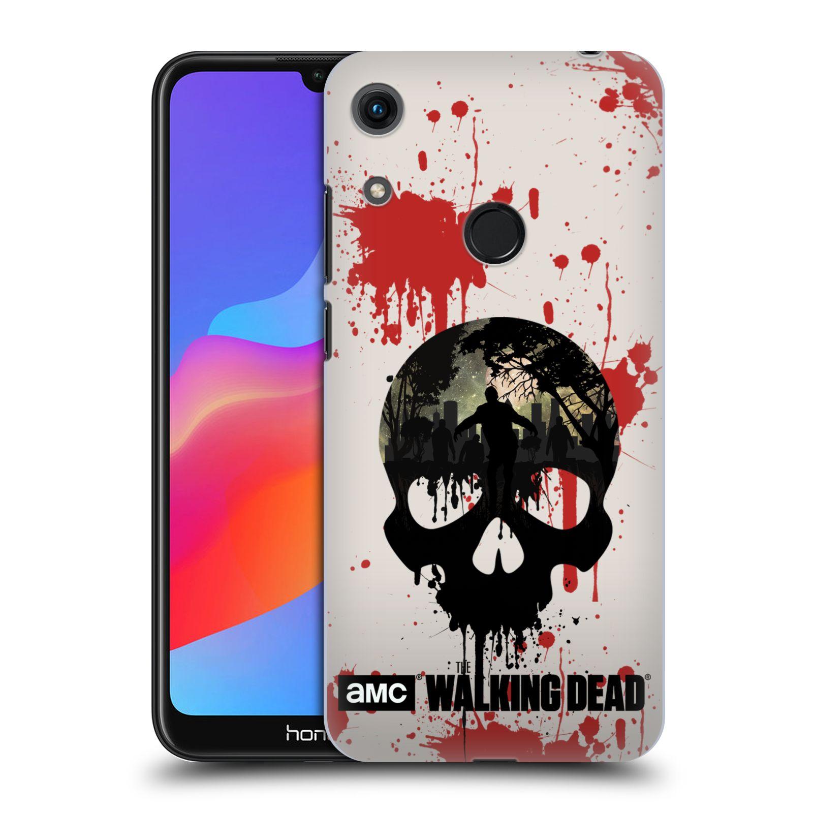 Plastové pouzdro na mobil Honor 8A - Head Case - Živí mrtví - Lebka