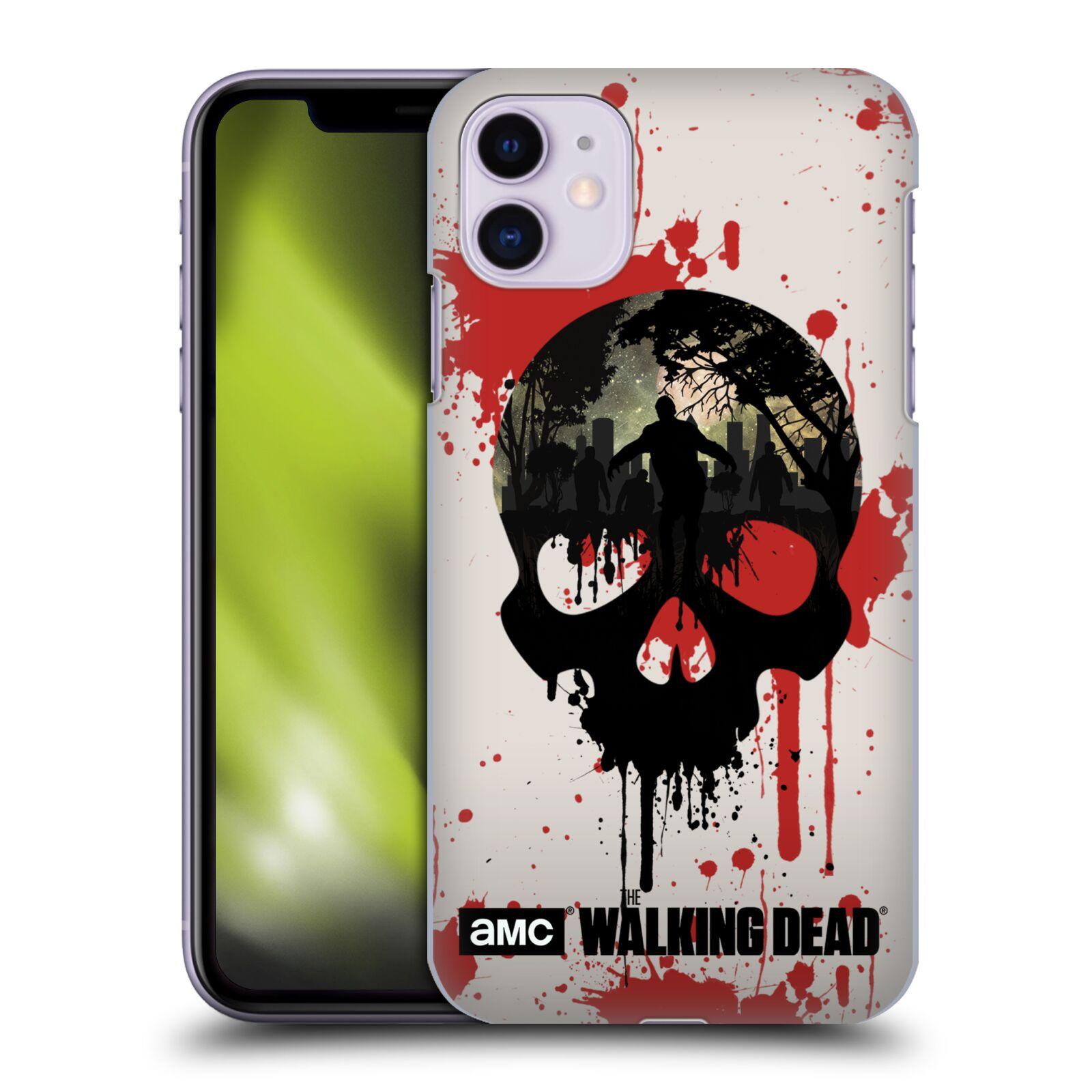 Plastové pouzdro na mobil Apple iPhone 11 - Head Case - Živí mrtví - Lebka