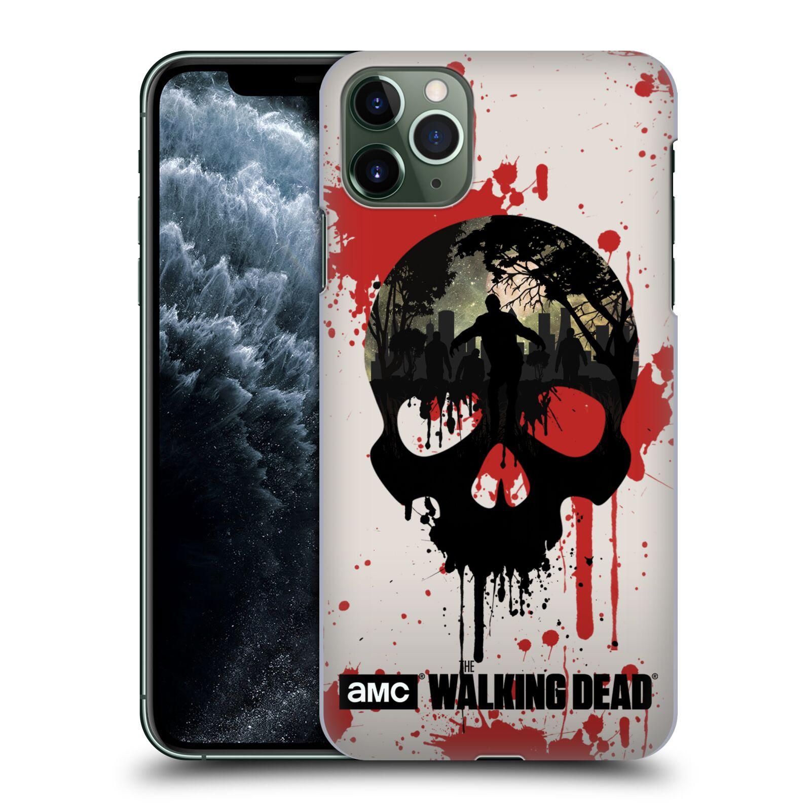 Plastové pouzdro na mobil Apple iPhone 11 Pro Max - Head Case - Živí mrtví - Lebka