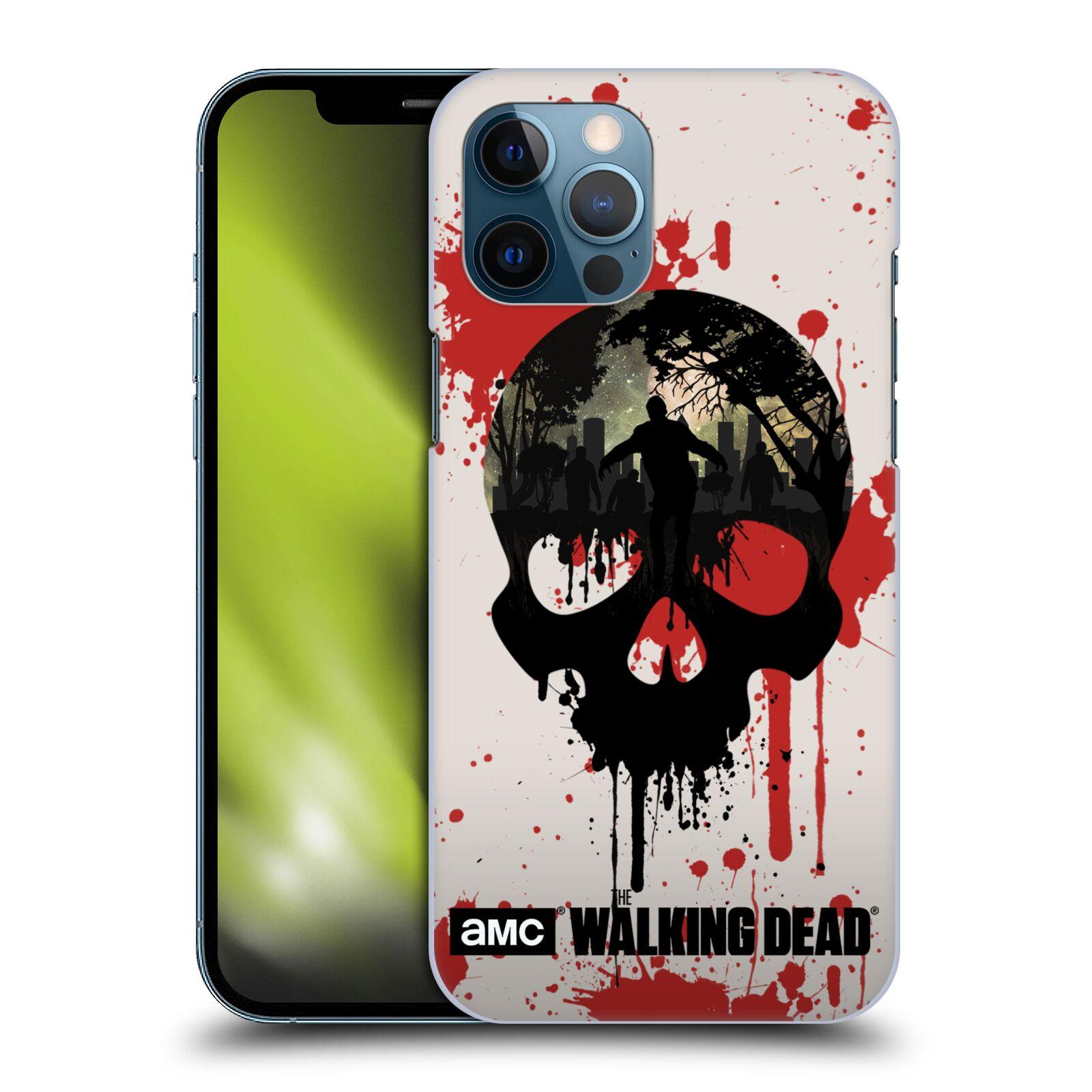 Plastové pouzdro na mobil Apple iPhone 12 Pro Max - Head Case - Živí mrtví - Lebka