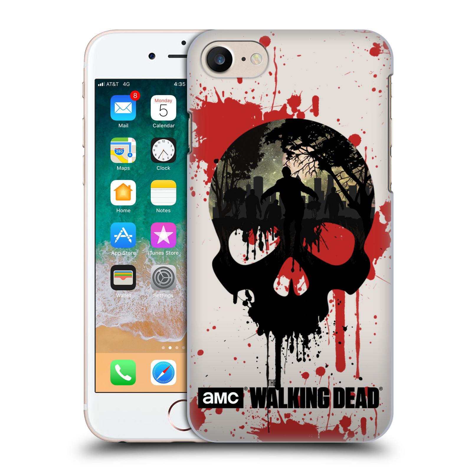 Plastové pouzdro na mobil Apple iPhone SE (2020) - Head Case - Živí mrtví - Lebka
