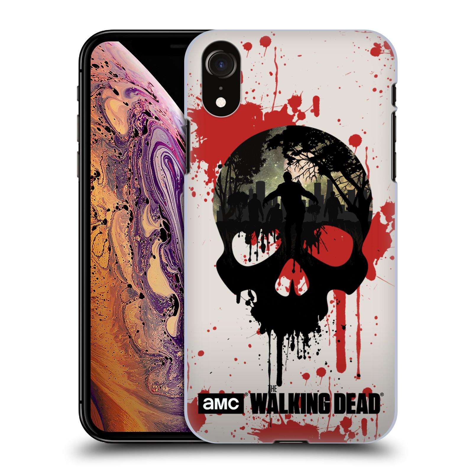 Plastové pouzdro na mobil Apple iPhone XR - Head Case - Živí mrtví - Lebka