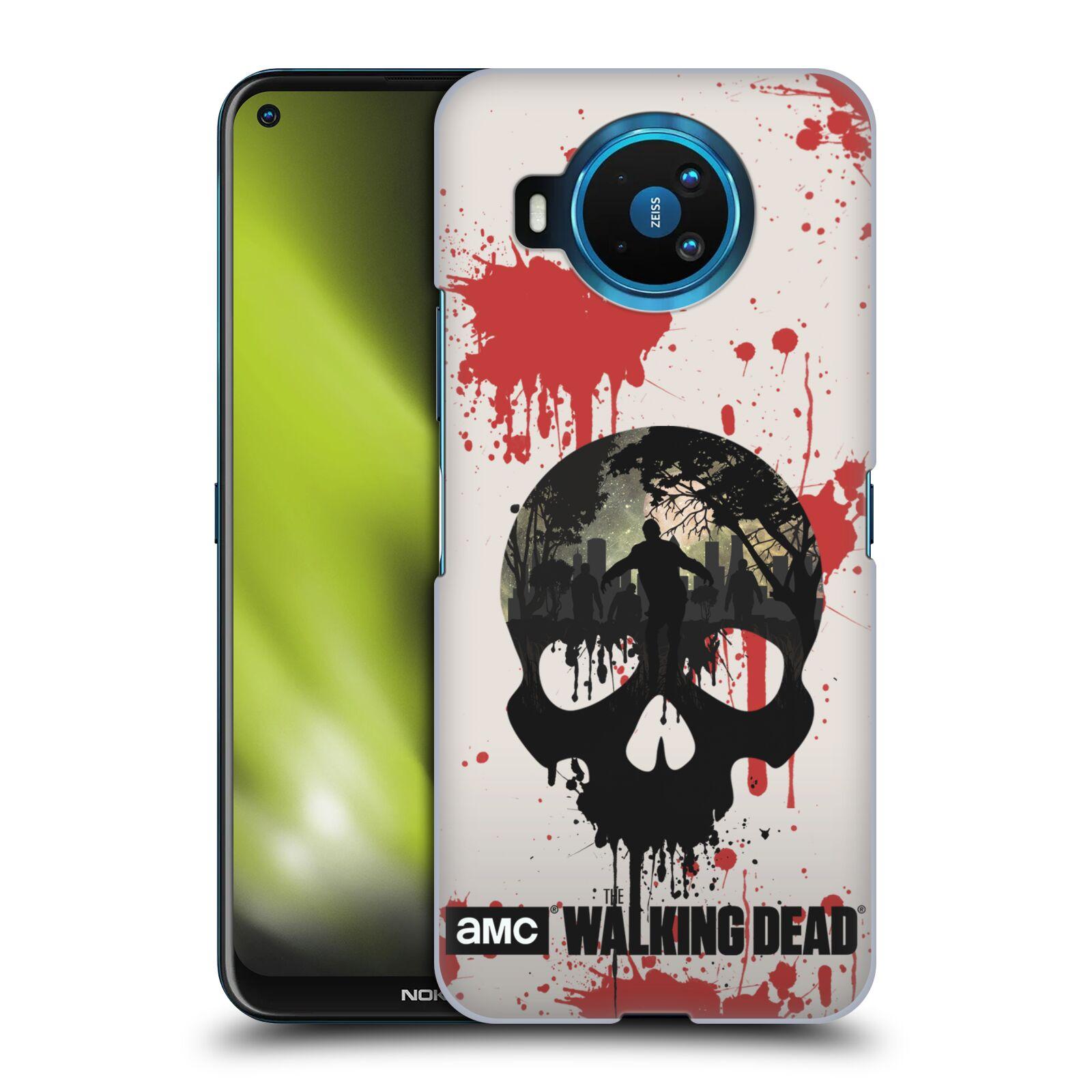 Plastové pouzdro na mobil Nokia 8.3 5G - Head Case - Živí mrtví - Lebka