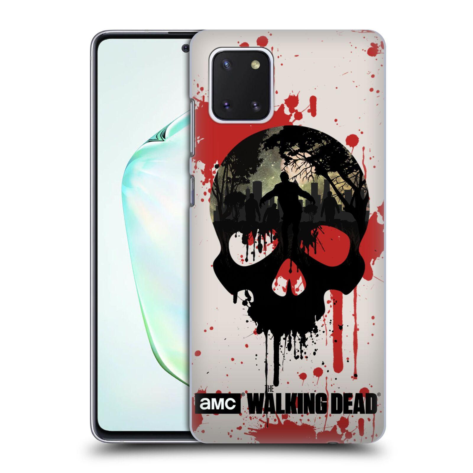 Plastové pouzdro na mobil Samsung Galaxy Note 10 Lite - Head Case - Živí mrtví - Lebka