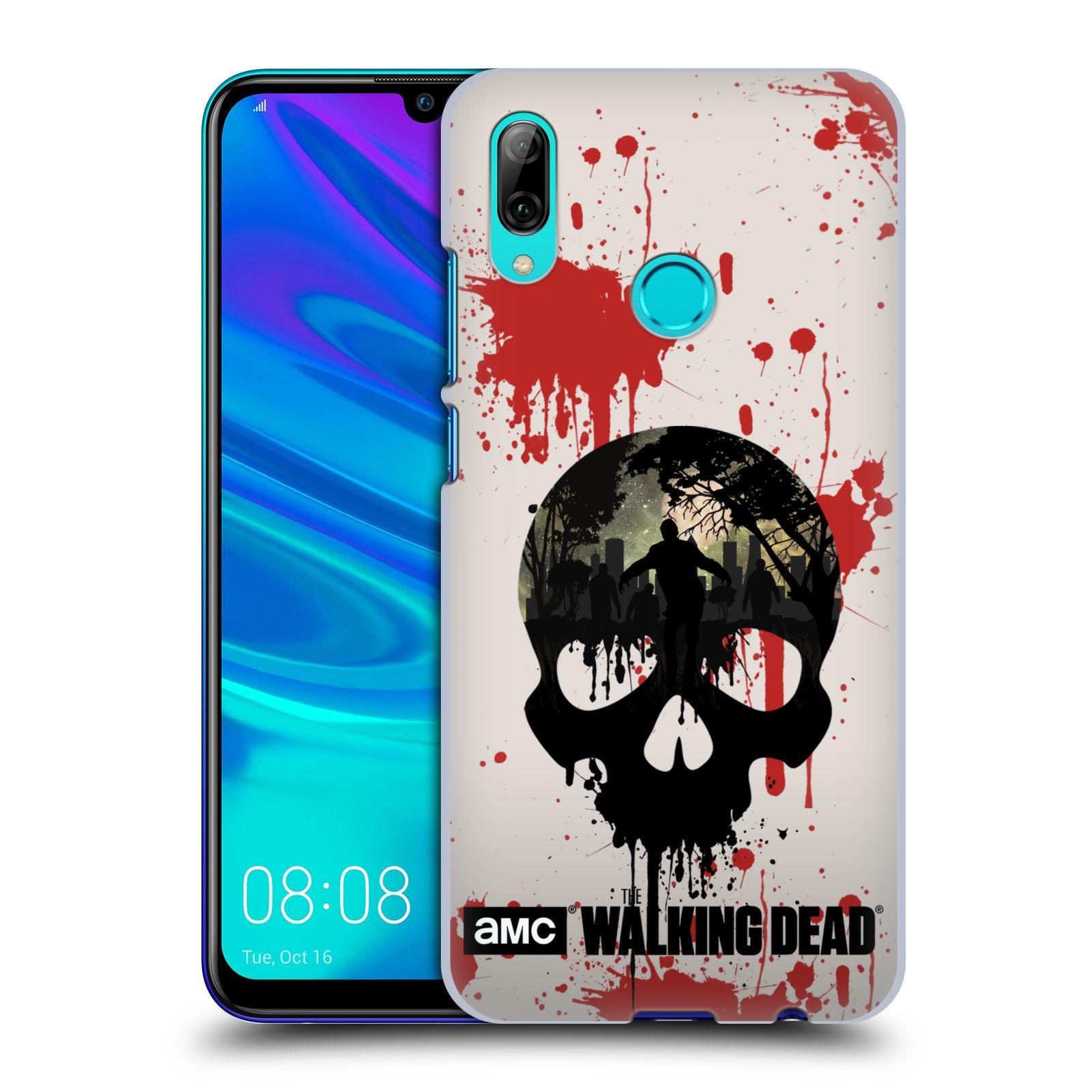Plastové pouzdro na mobil Huawei P Smart (2019) - Head Case - Živí mrtví - Lebka
