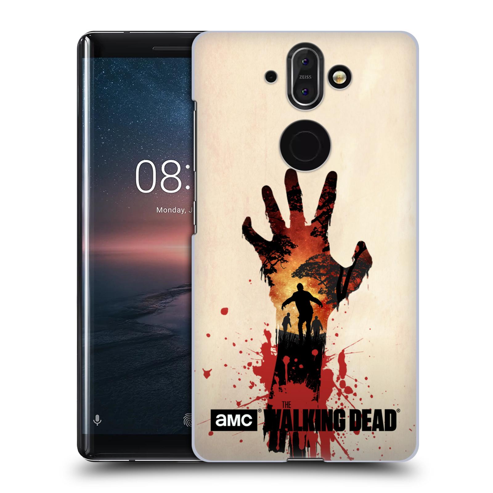 Plastové pouzdro na mobil Nokia 8 Sirocco - Head Case - Živí mrtví - Ruka