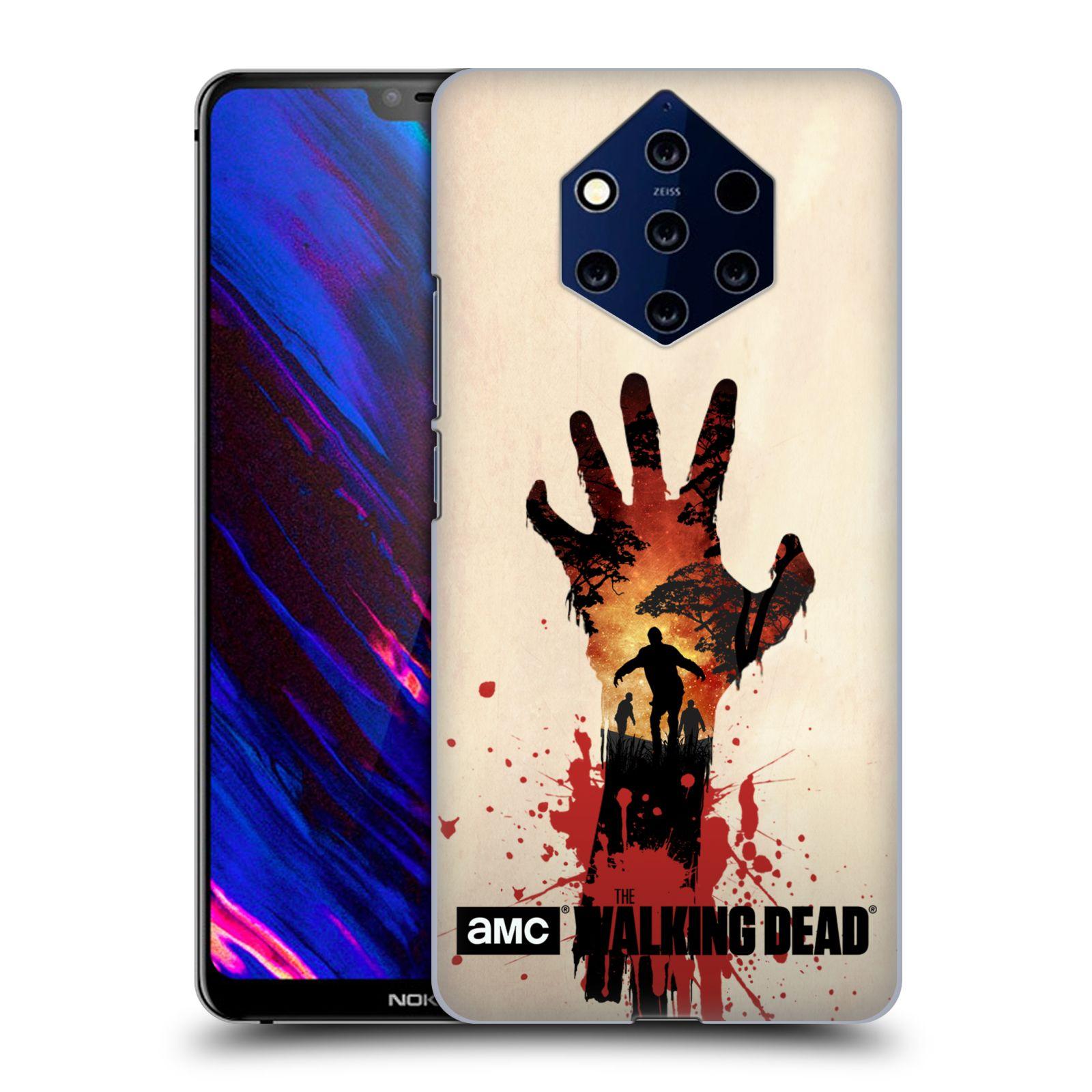 Plastové pouzdro na mobil Nokia 9 PureView - Head Case - Živí mrtví - Ruka