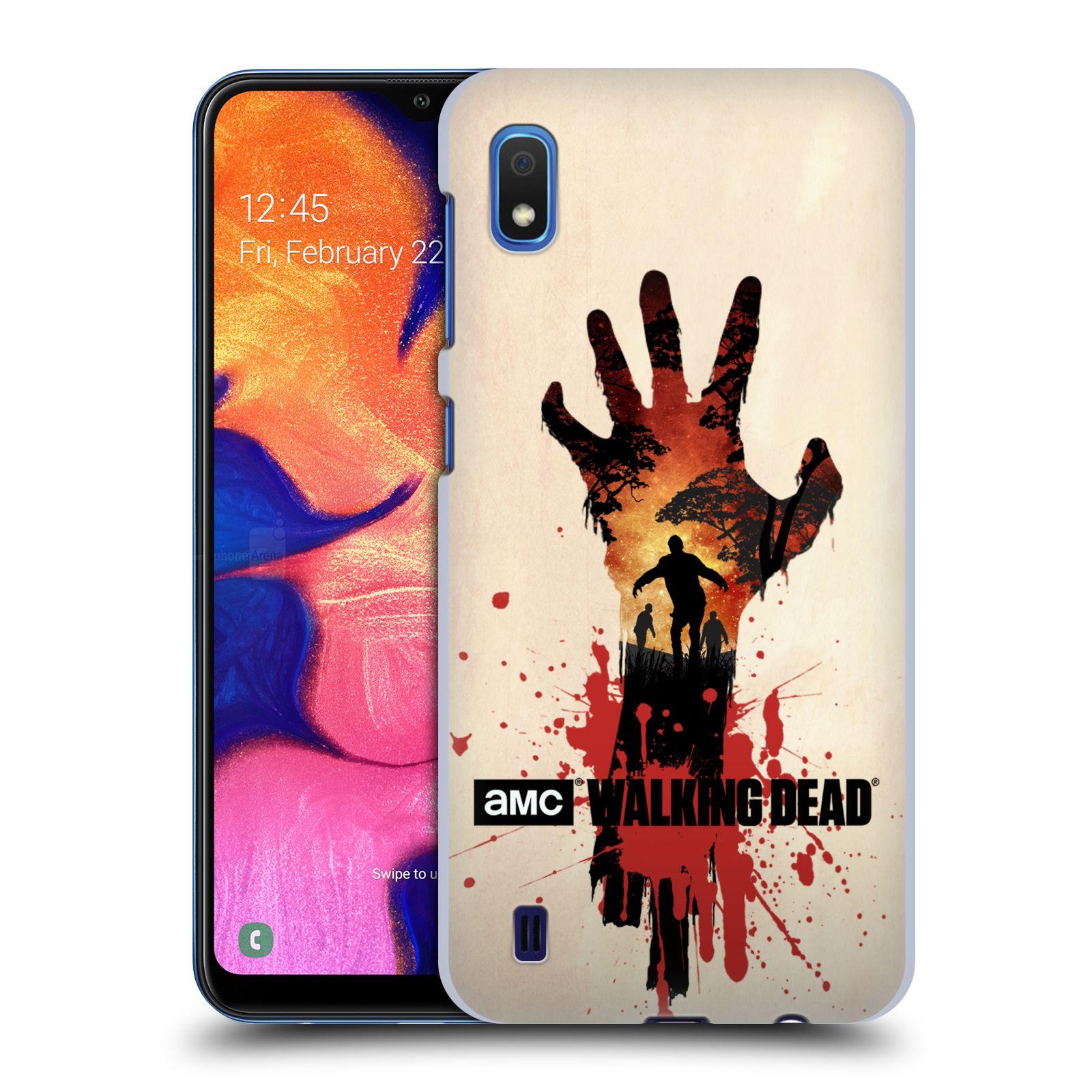 Plastové pouzdro na mobil Samsung Galaxy A10 - Head Case - Živí mrtví - Ruka