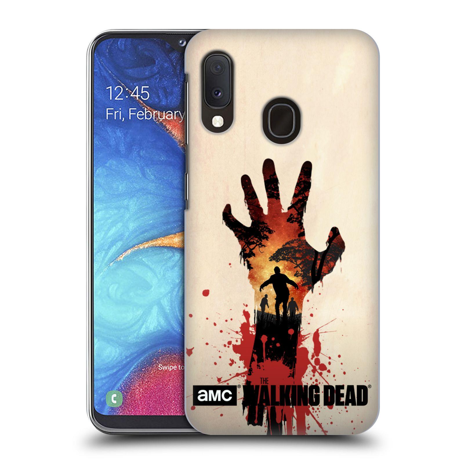 Plastové pouzdro na mobil Samsung Galaxy A20e - Head Case - Živí mrtví - Ruka