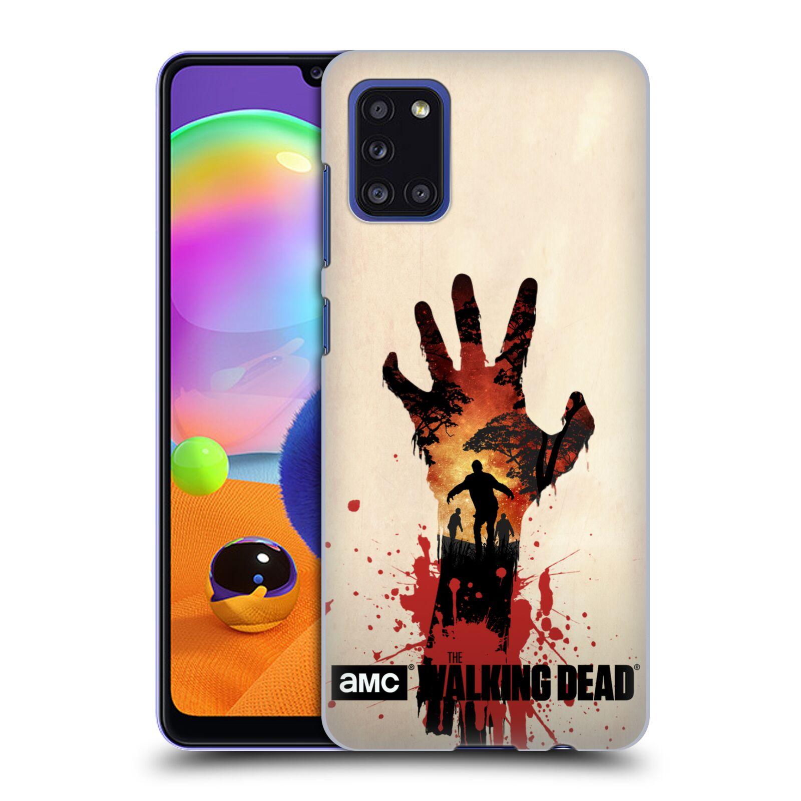 Plastové pouzdro na mobil Samsung Galaxy A31 - Head Case - Živí mrtví - Ruka