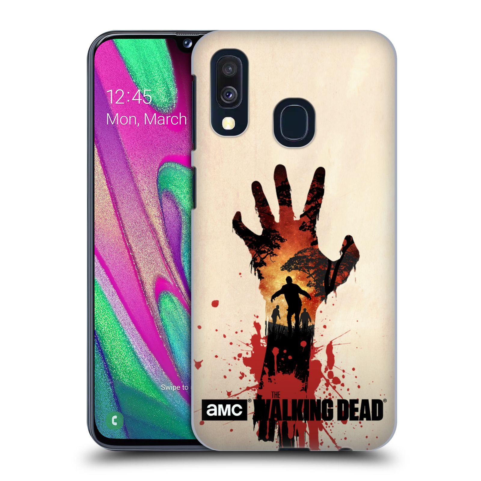Plastové pouzdro na mobil Samsung Galaxy A40 - Head Case - Živí mrtví - Ruka