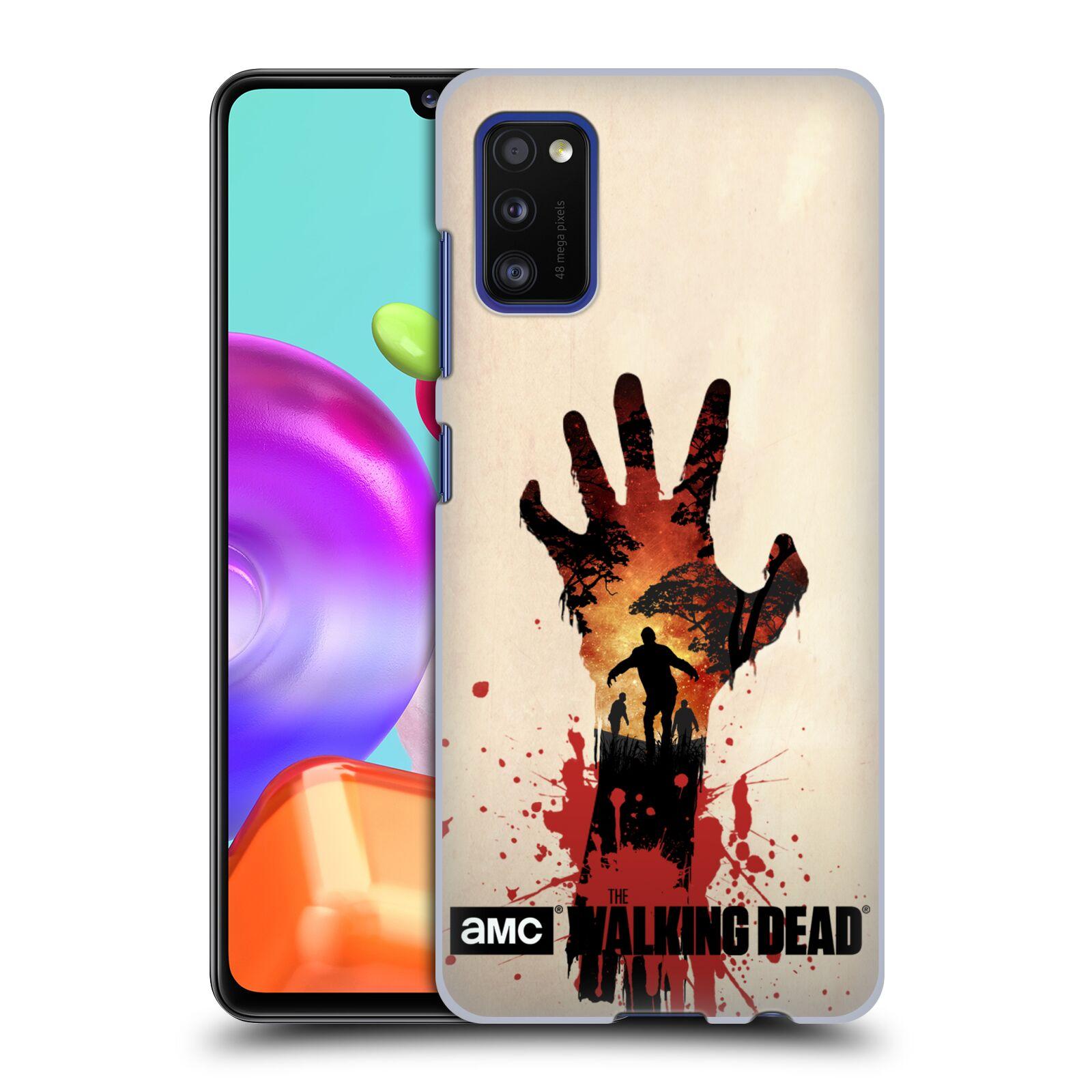 Plastové pouzdro na mobil Samsung Galaxy A41 - Head Case - Živí mrtví - Ruka