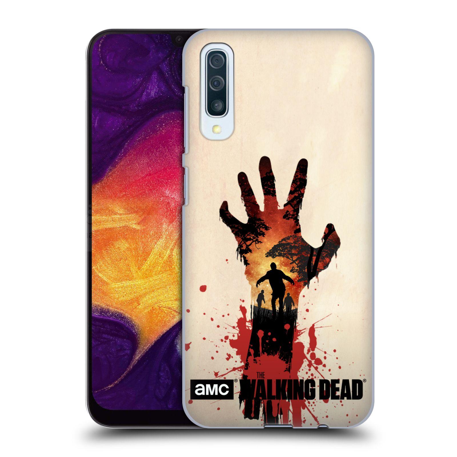 Plastové pouzdro na mobil Samsung Galaxy A50 - Head Case - Živí mrtví - Ruka