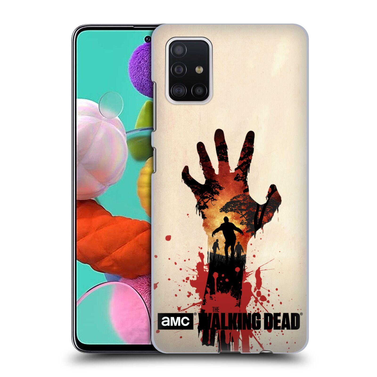 Plastové pouzdro na mobil Samsung Galaxy A51 - Head Case - Živí mrtví - Ruka