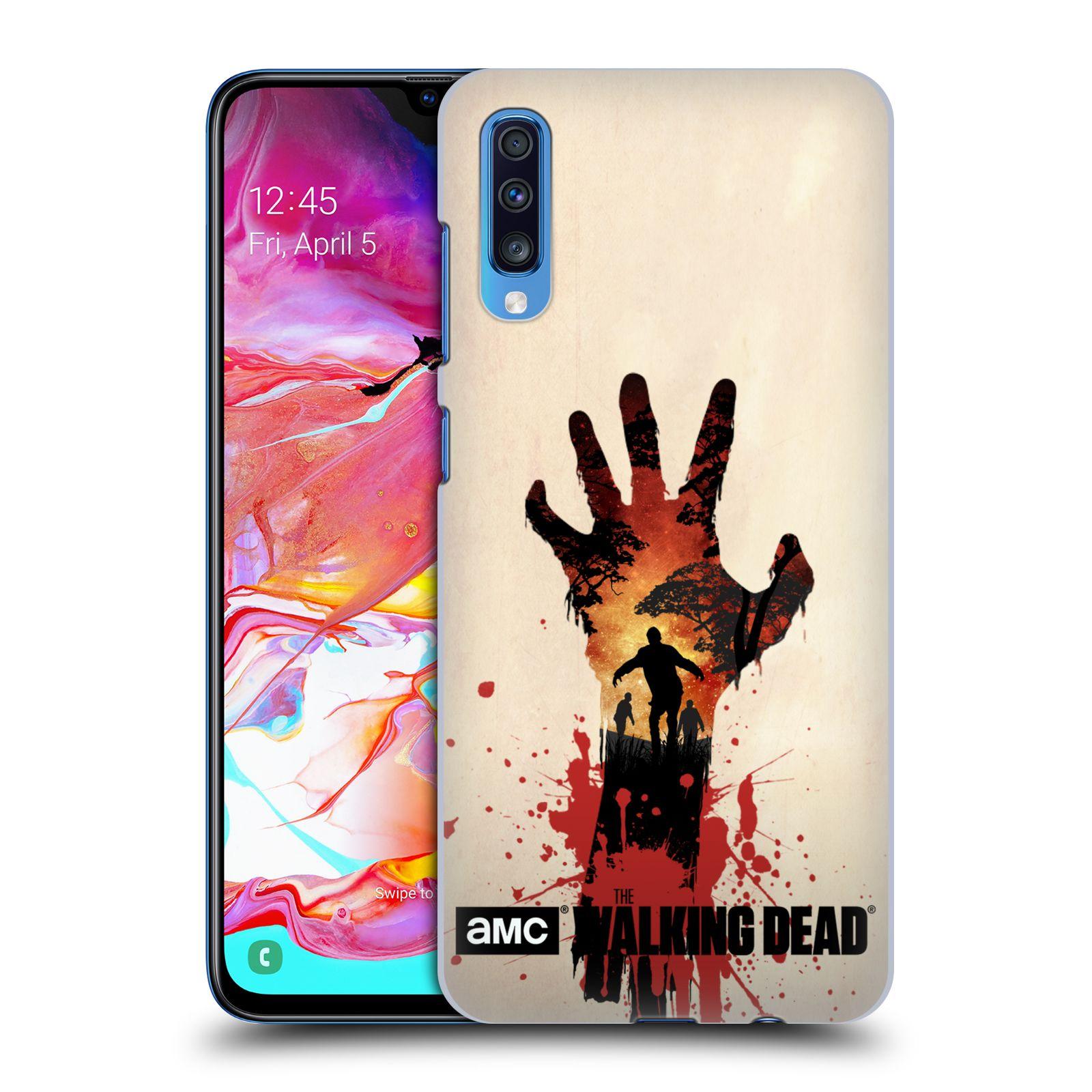 Plastové pouzdro na mobil Samsung Galaxy A70 - Head Case - Živí mrtví - Ruka