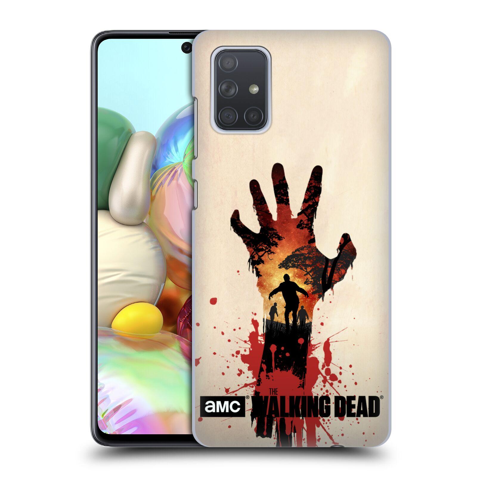 Plastové pouzdro na mobil Samsung Galaxy A71 - Head Case - Živí mrtví - Ruka